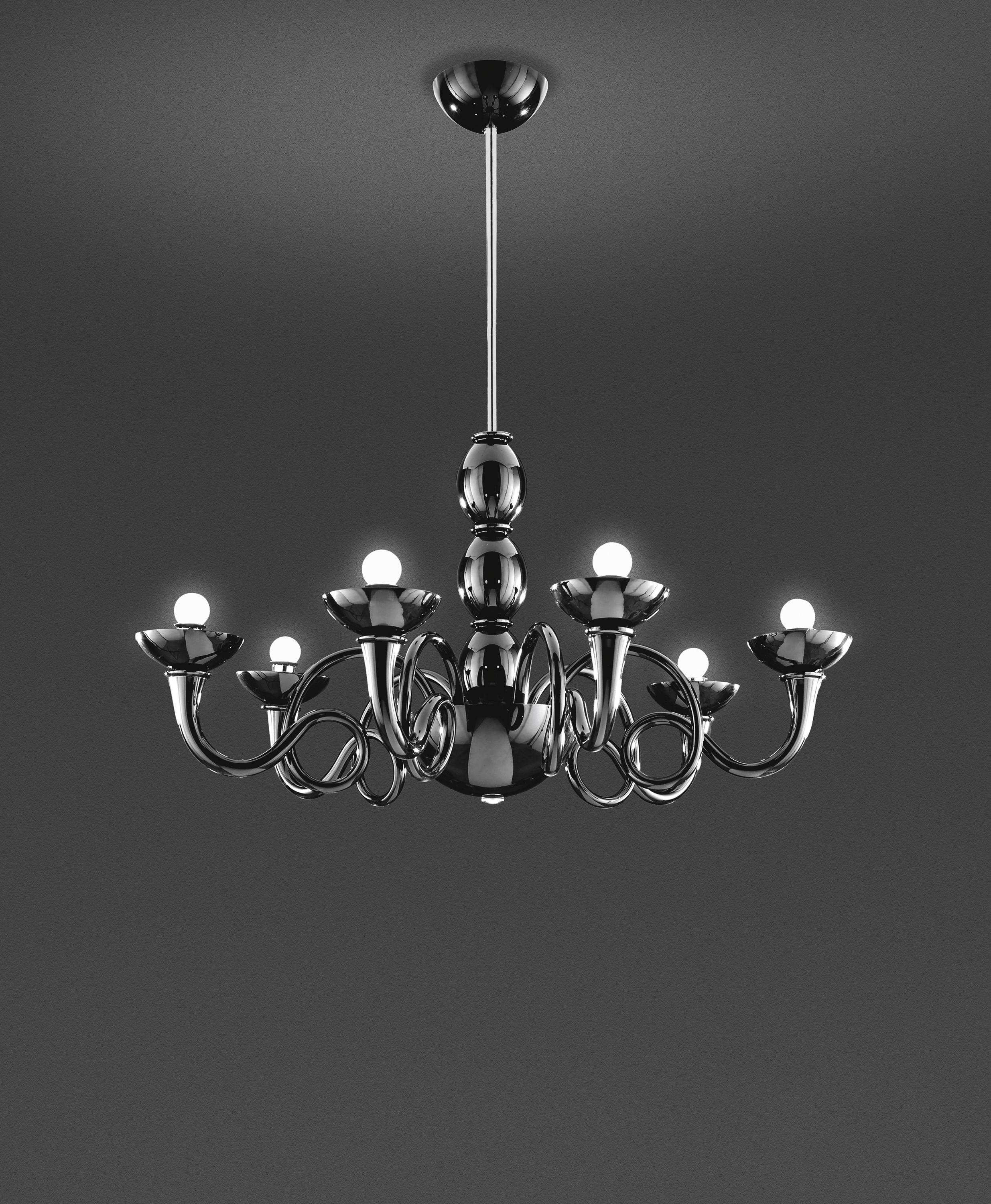 Pantalica suspension lamp ceiling suspended chandeliers for Suspension 4 lampes
