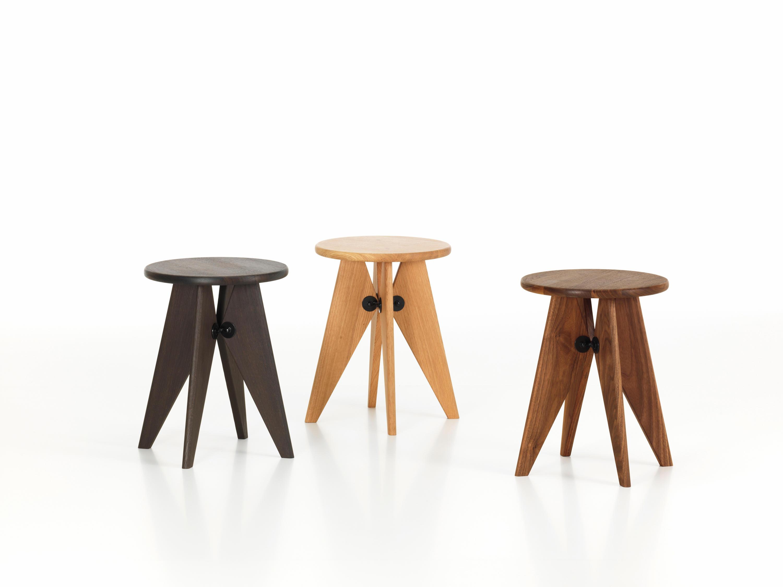 Tabouret solvay stools vitra architonic