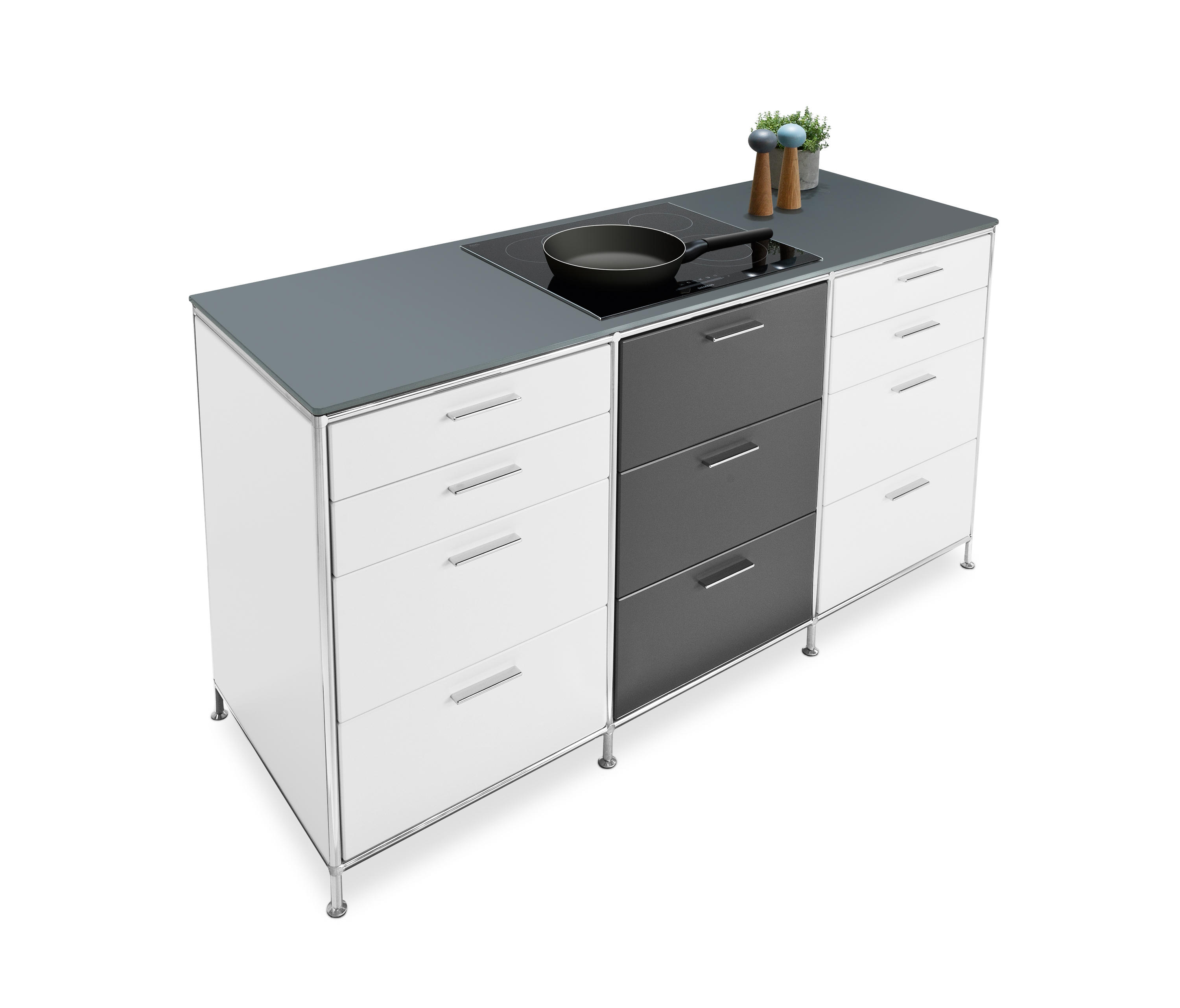 Buy Free Standing Kitchen Cabinets: Kitchen Cabinets From Dauphin