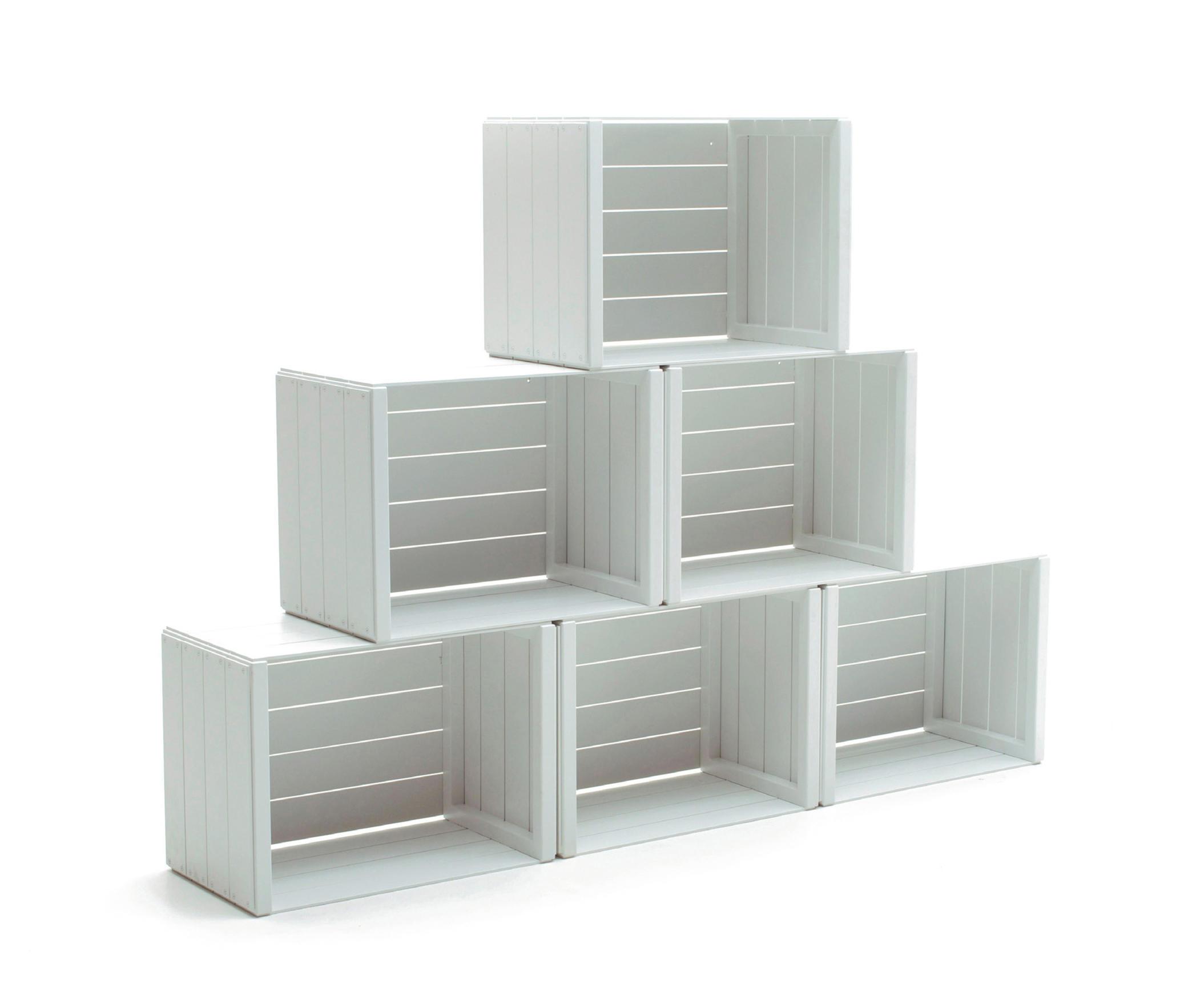 units storage system regalmodule von varaschin architonic. Black Bedroom Furniture Sets. Home Design Ideas