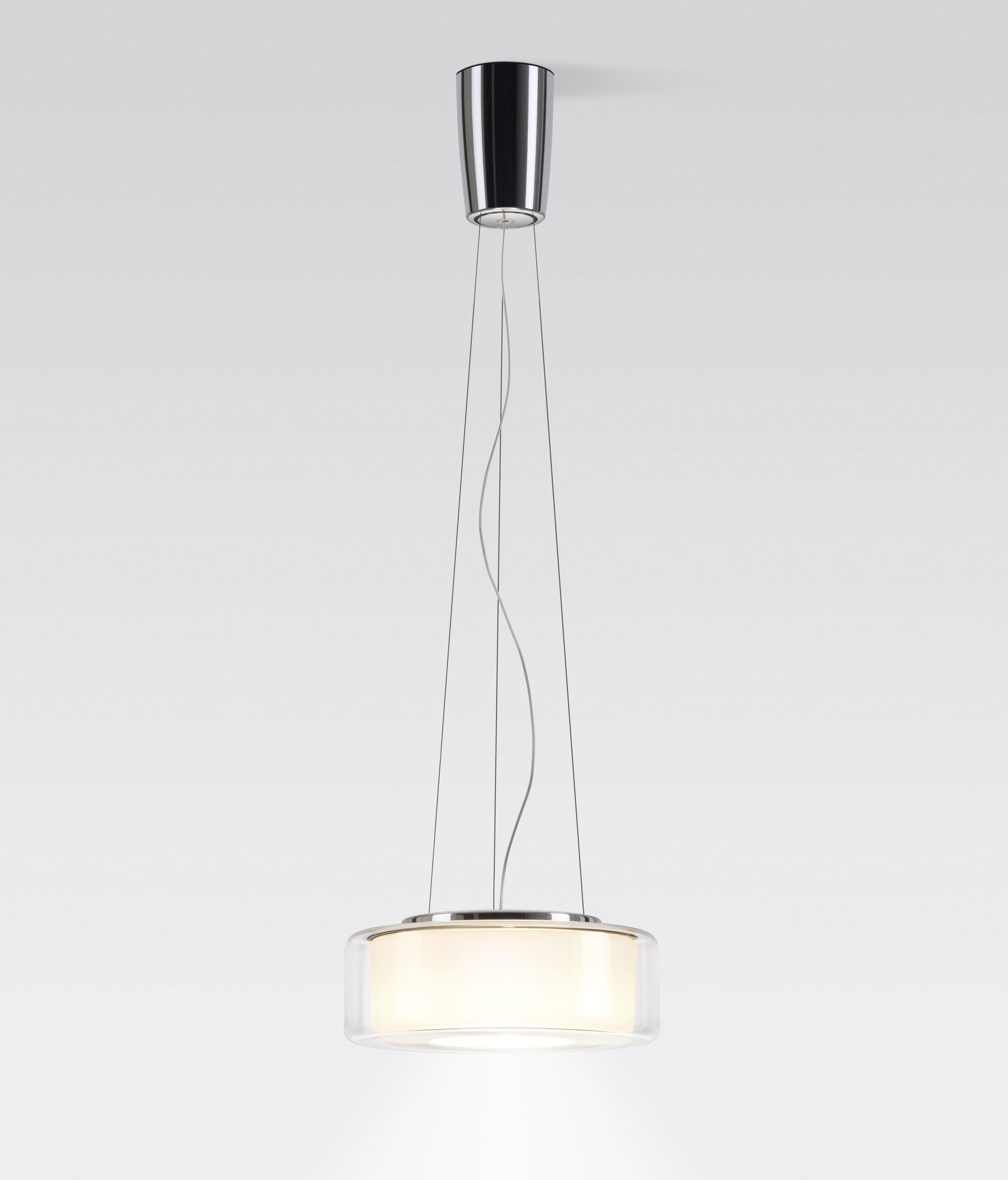 curling suspension clear reflector cylindrical opal rope general lighting from. Black Bedroom Furniture Sets. Home Design Ideas