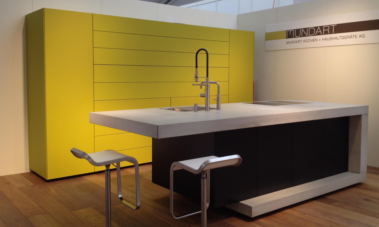 beton k che design beispiel k chenarbeitsfl chen von dade design ag concrete works beton. Black Bedroom Furniture Sets. Home Design Ideas