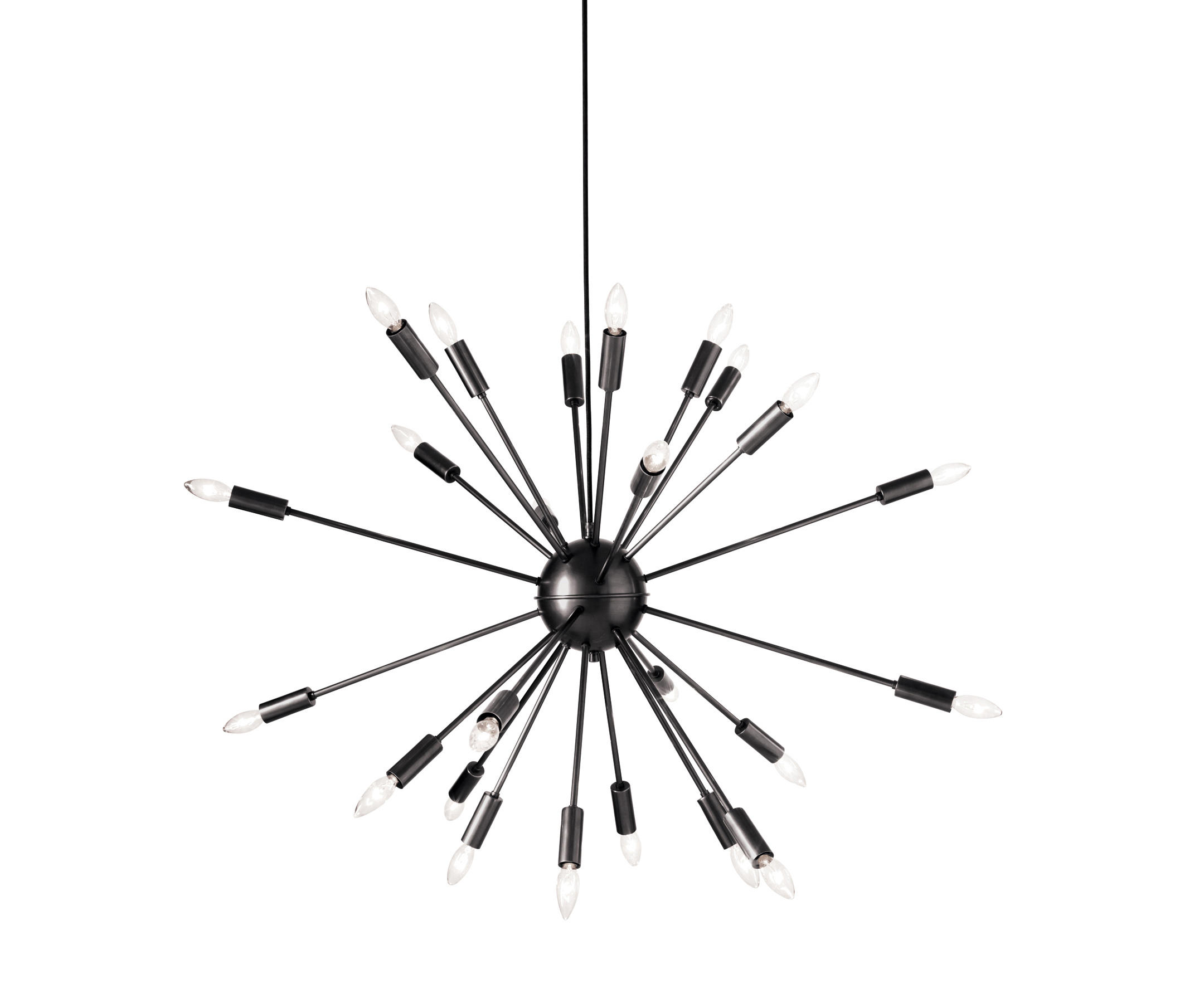 SATELLITE CHANDELIER IN BRONZE General lighting from Design