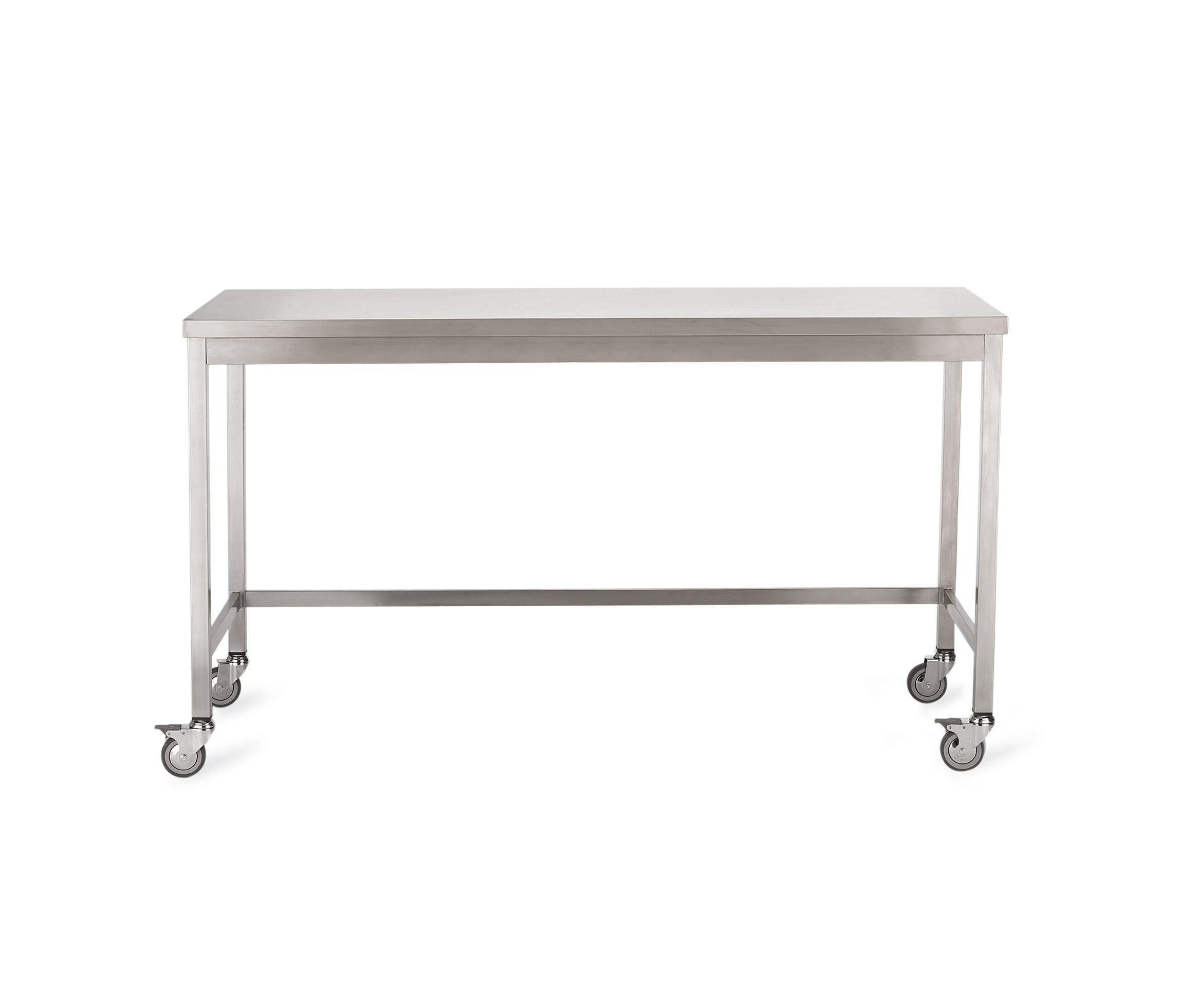 Good Quovis Standing Height Table By Design Within Reach | Kitchen Trolleys