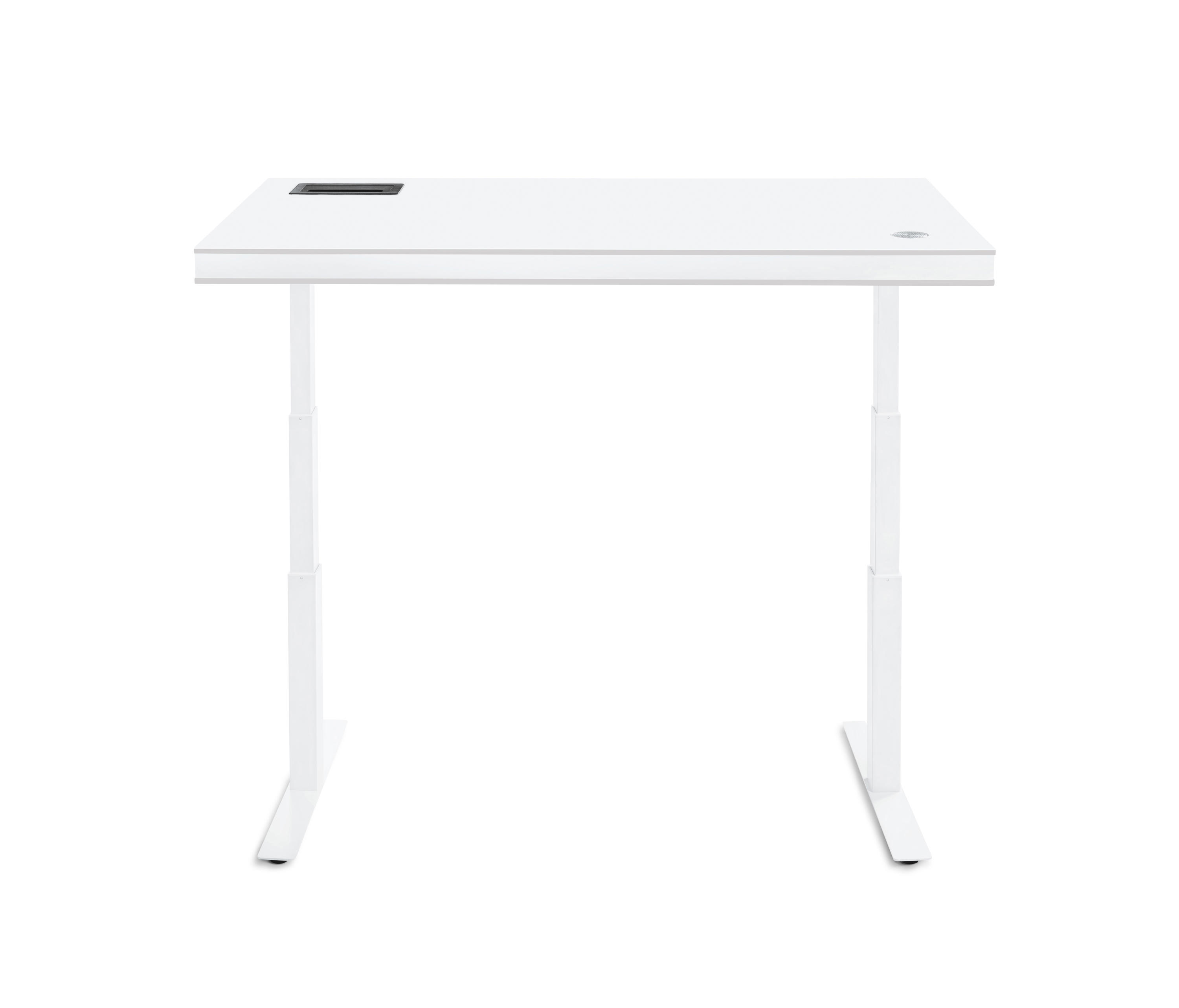 ... TableAir White Glossy By TableAir | Height Adjustable Desks