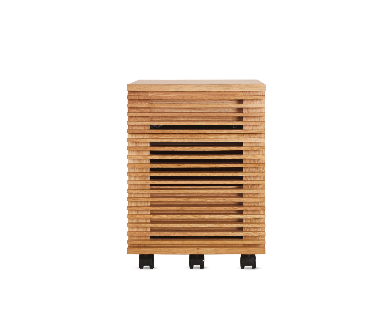 Line pedestal cassettiere ufficio design within reach for Cassettiere ufficio
