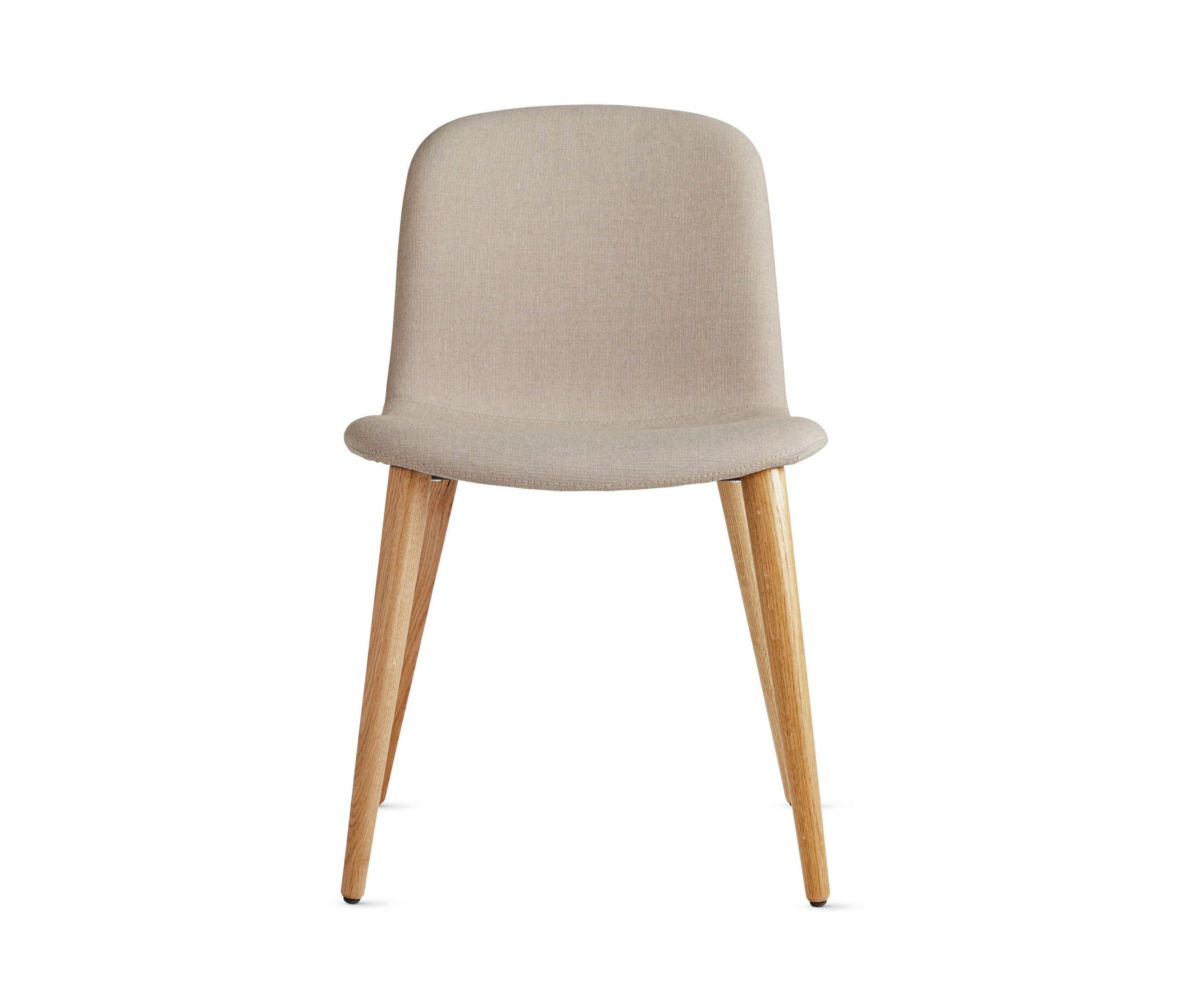 bacco chair in fabric oak legs visitors chairs side