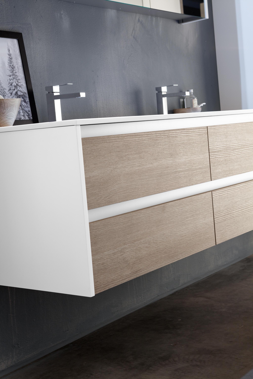 Doppel waschtischunterschrank design  KAMI | KOMPOSITION 01 - Wandschränke von Mastella Design | Architonic