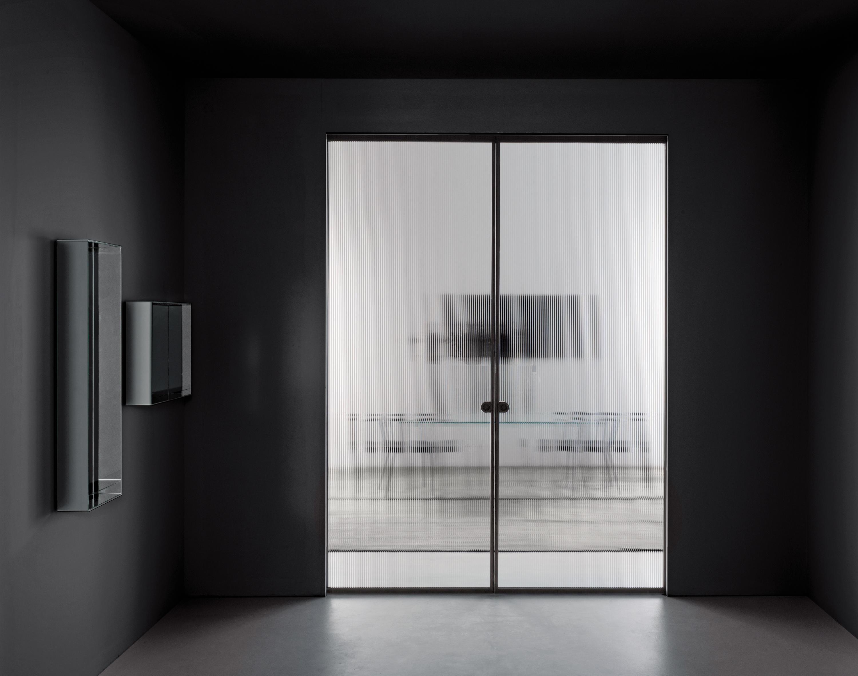 Aladin Pocket Duo Internal Doors From Glas Italia