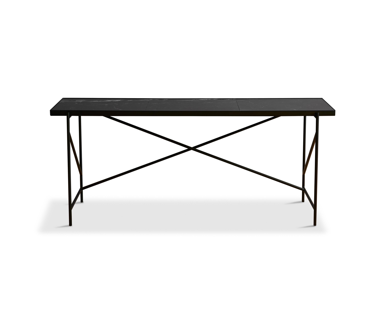 Desk Black Black Marble Architonic