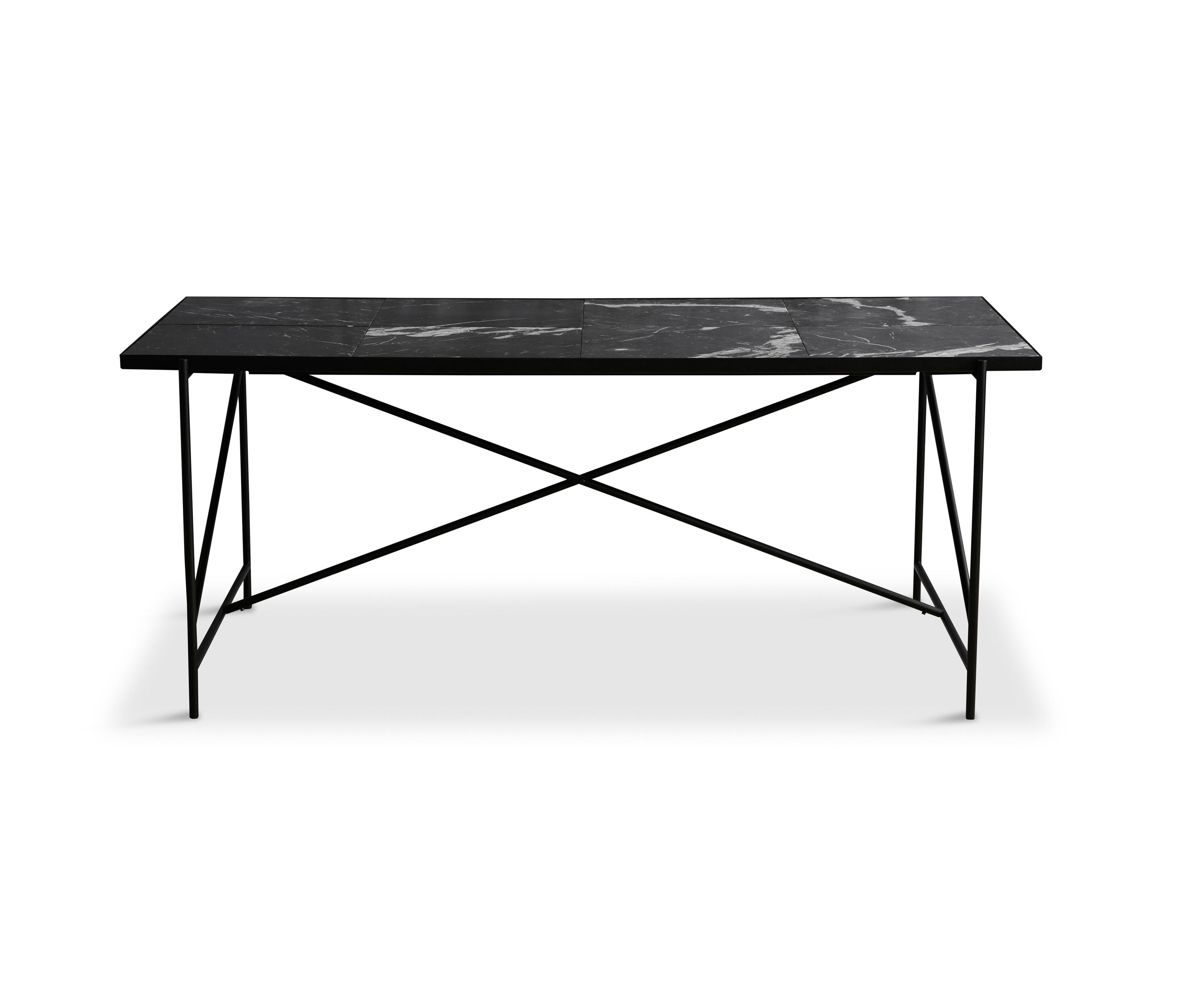 DINING TABLE 185 BLACK BLACK MARBLE Dining tables from