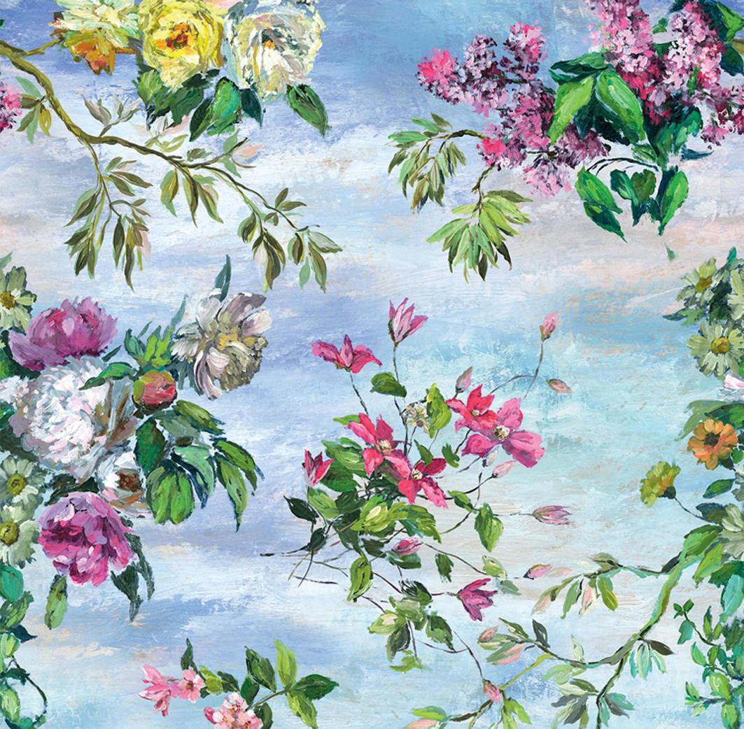 Caprifoglio fabrics caprifoglio grande sky tessuti - Designers guild catalogo ...