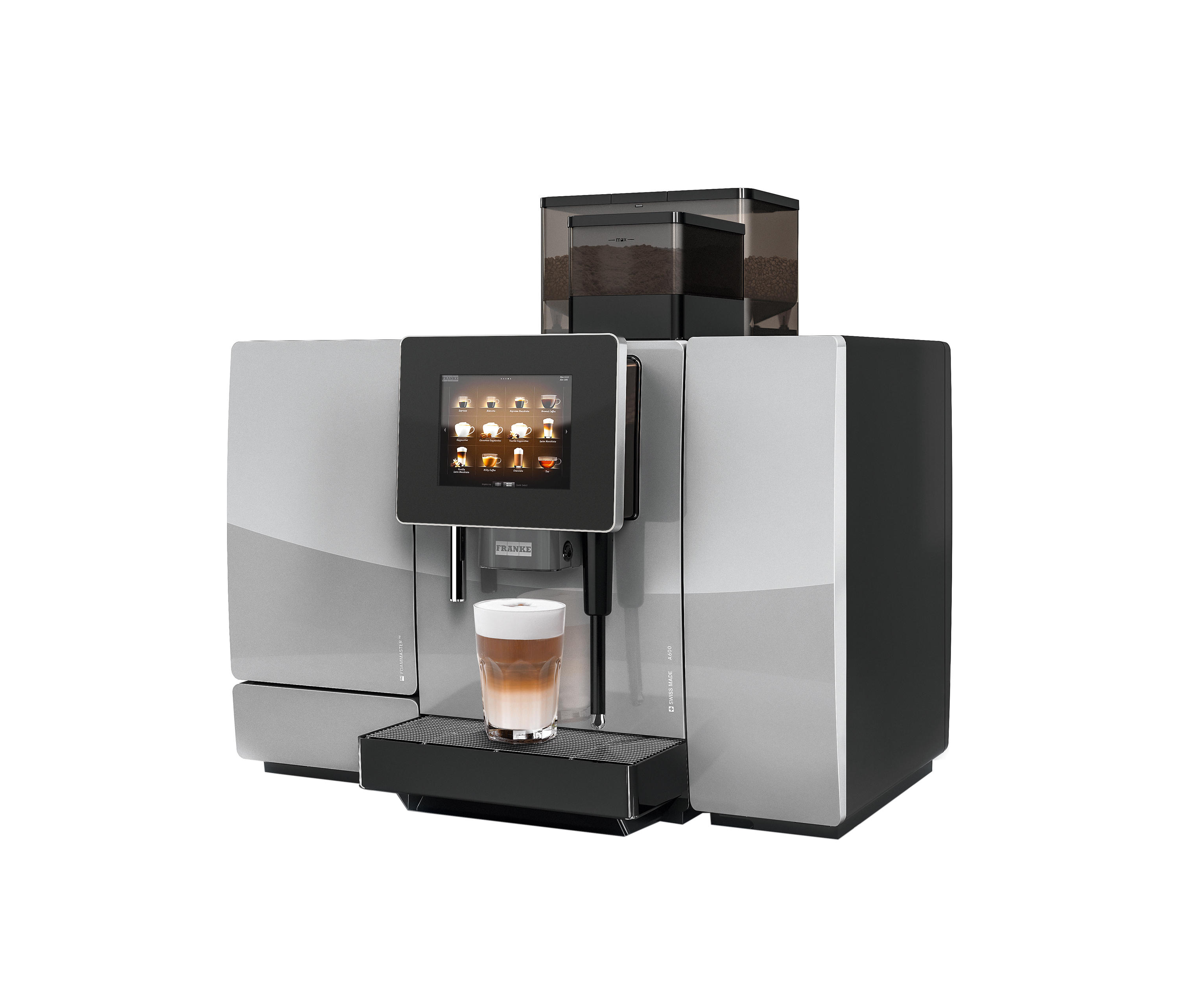 a600 coffee machines from franke kaffeemaschinen ag architonic. Black Bedroom Furniture Sets. Home Design Ideas