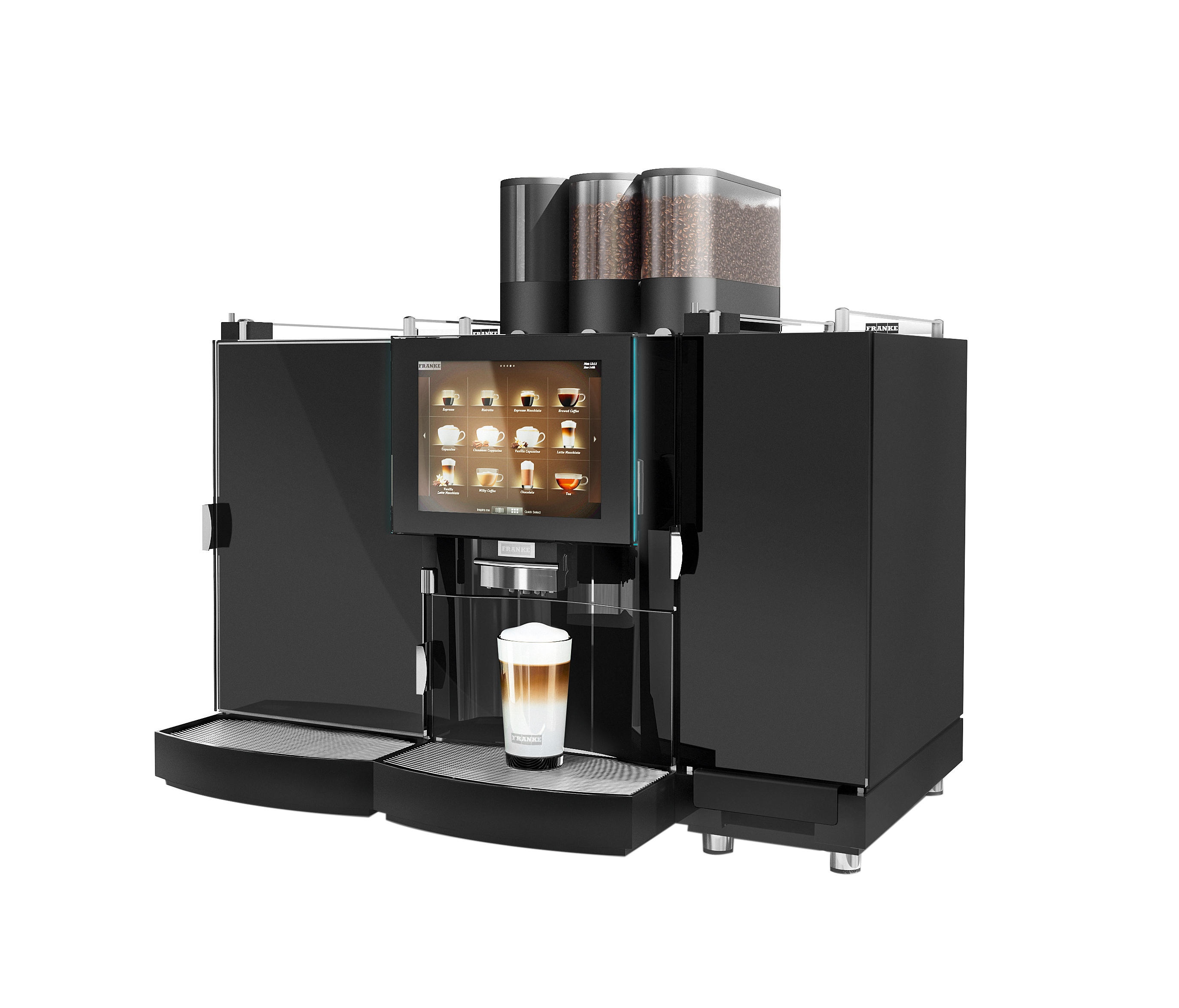 foammaster coffee machines from franke kaffeemaschinen ag architonic. Black Bedroom Furniture Sets. Home Design Ideas