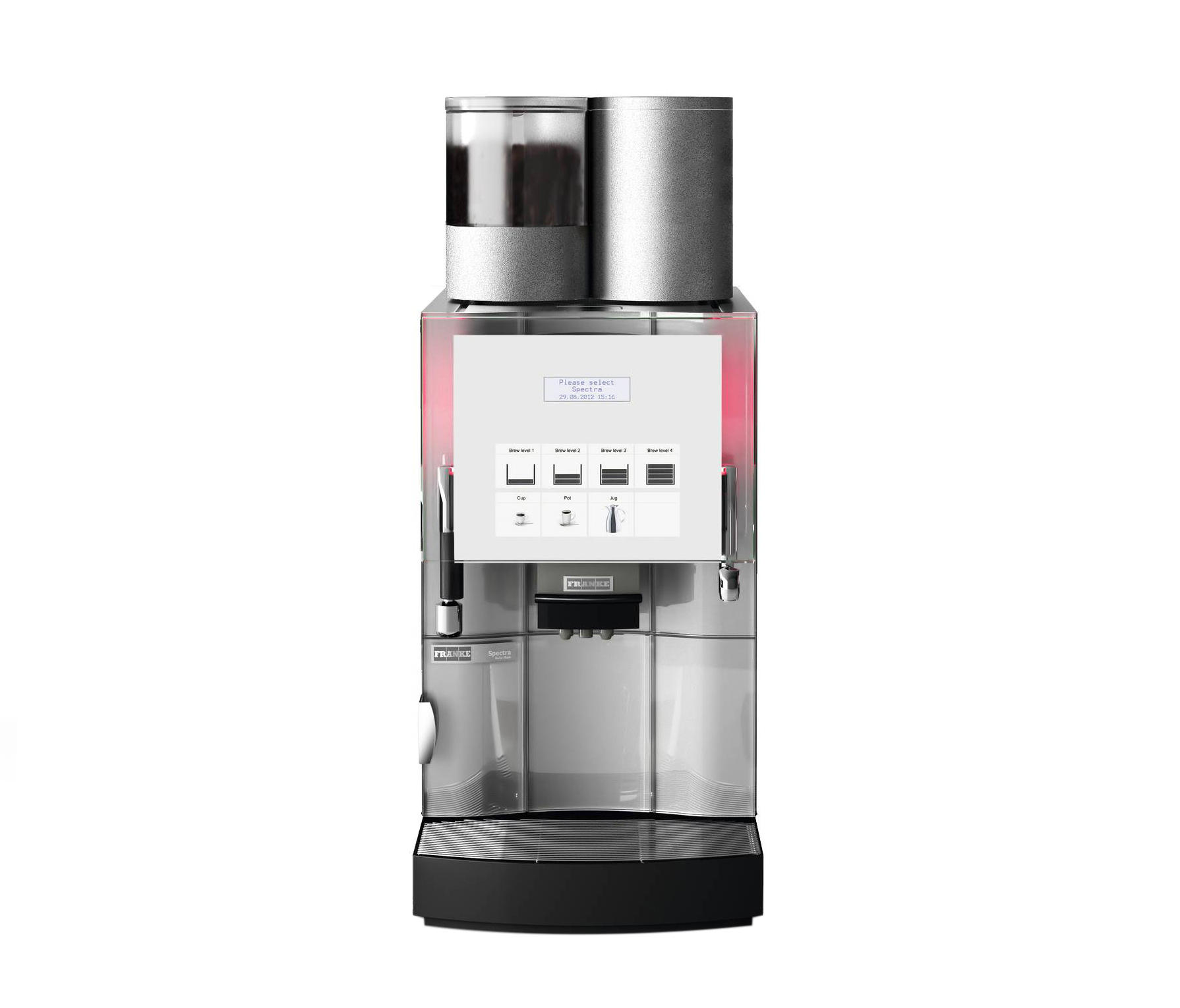 spectra x coffee machines from franke kaffeemaschinen ag architonic. Black Bedroom Furniture Sets. Home Design Ideas