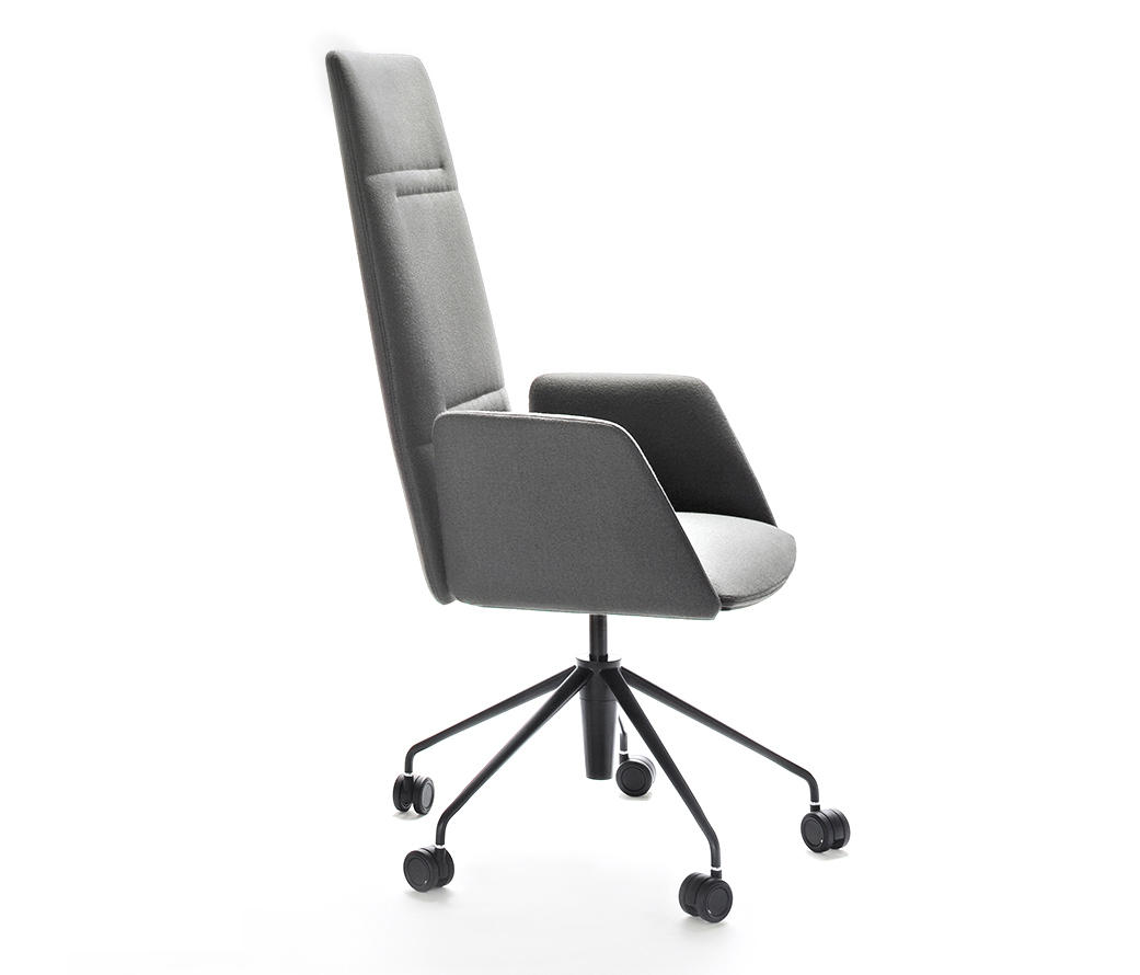 Vela Executive High Backrest Chair By Tecno | Chairs