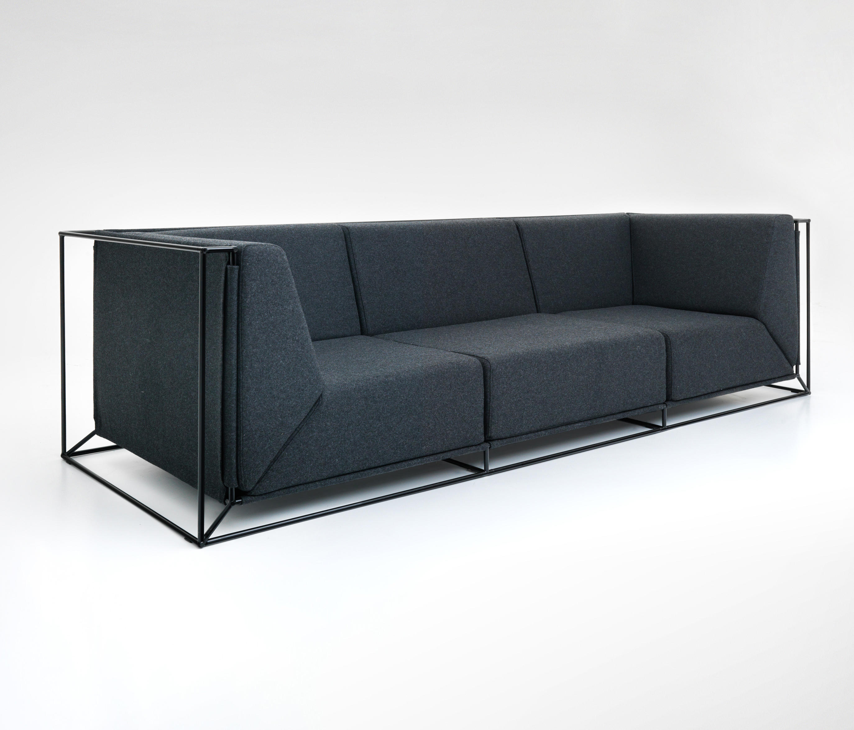floating sofa loungesofas von comforty architonic. Black Bedroom Furniture Sets. Home Design Ideas