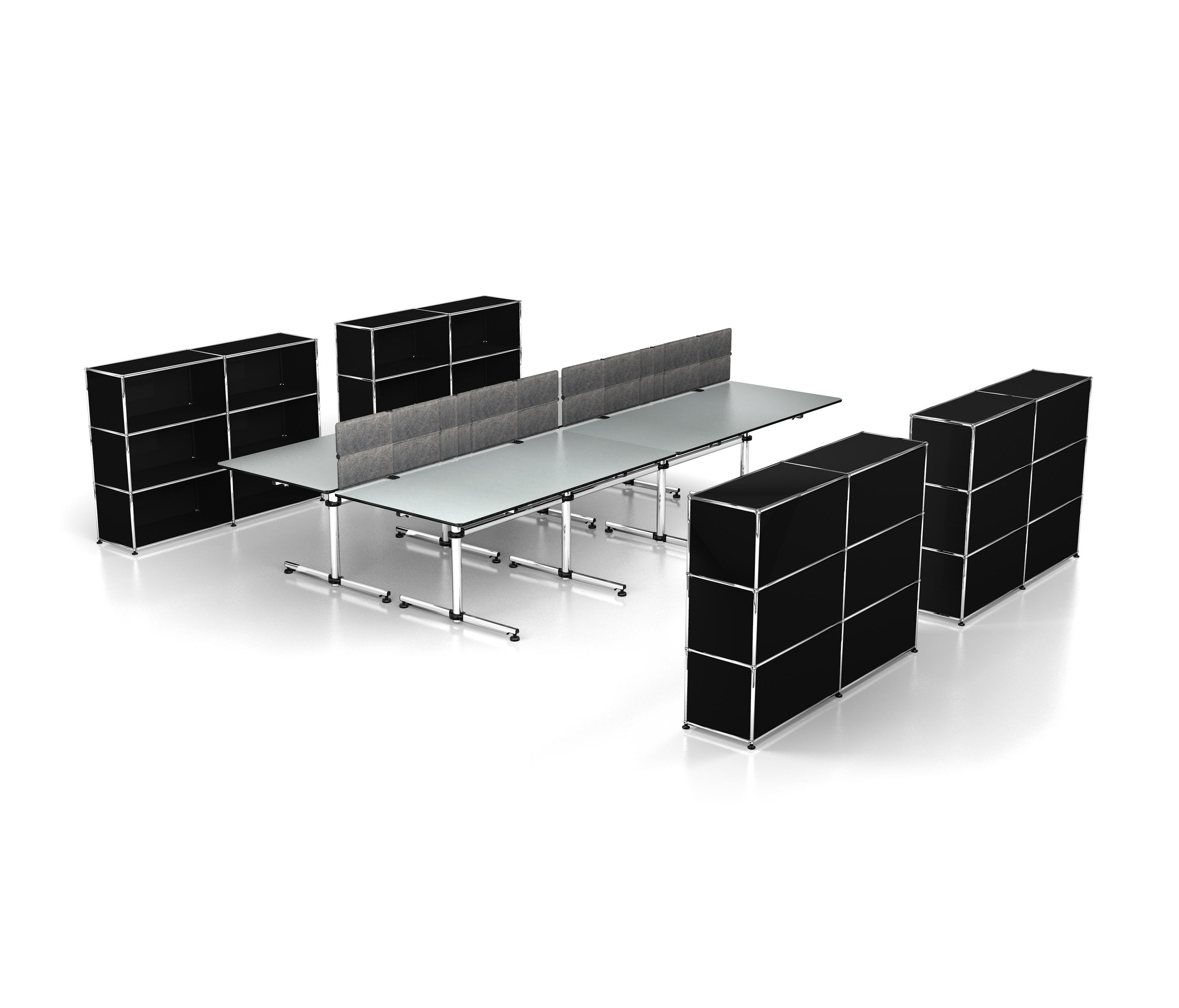 ... USM Privacy Panels By USM | Table Dividers