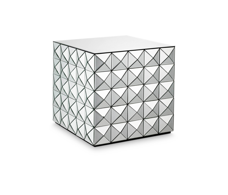Harlekin Table Silver By Reflections Copenhagen | Side Tables