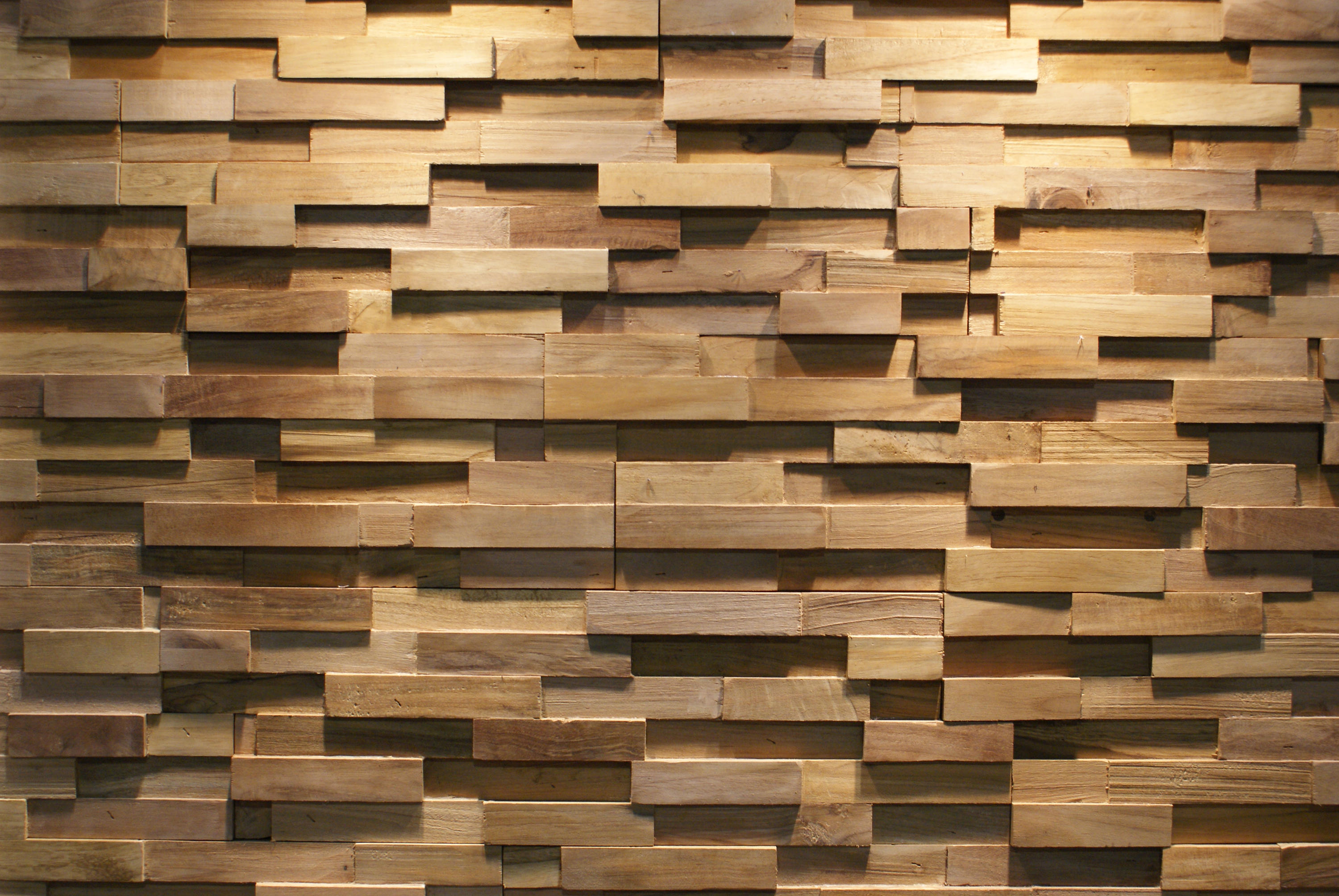 Java sp straight wood panels from teak your wall Wall pictures
