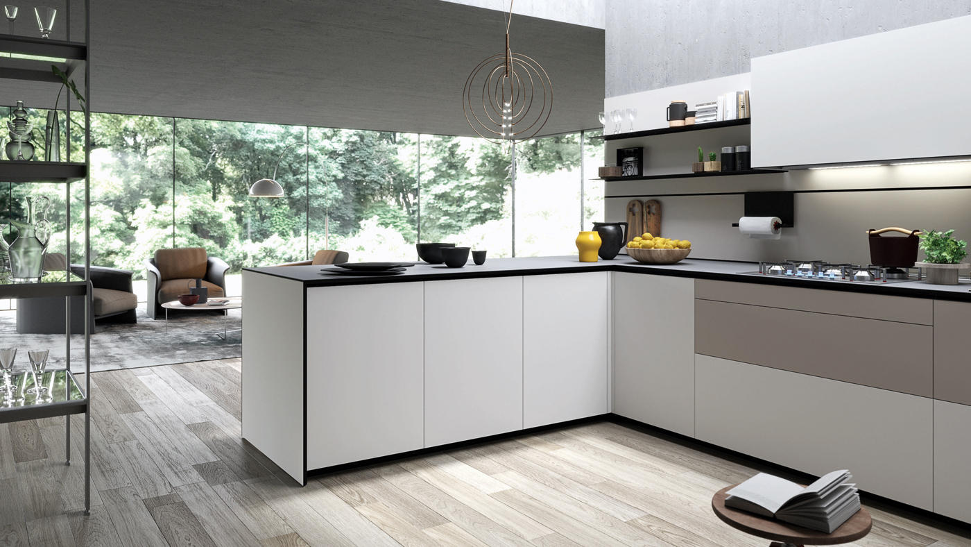 Forma Mentis Angel Skin Door Fitted Kitchens From Valcucine