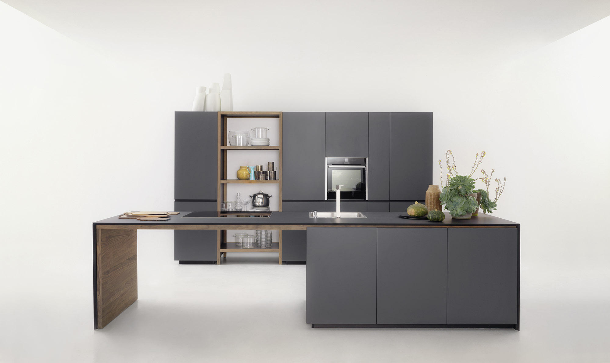 Forma mentis lacquered door island kitchens from valcucine architonic - Valcucine forma mentis ...
