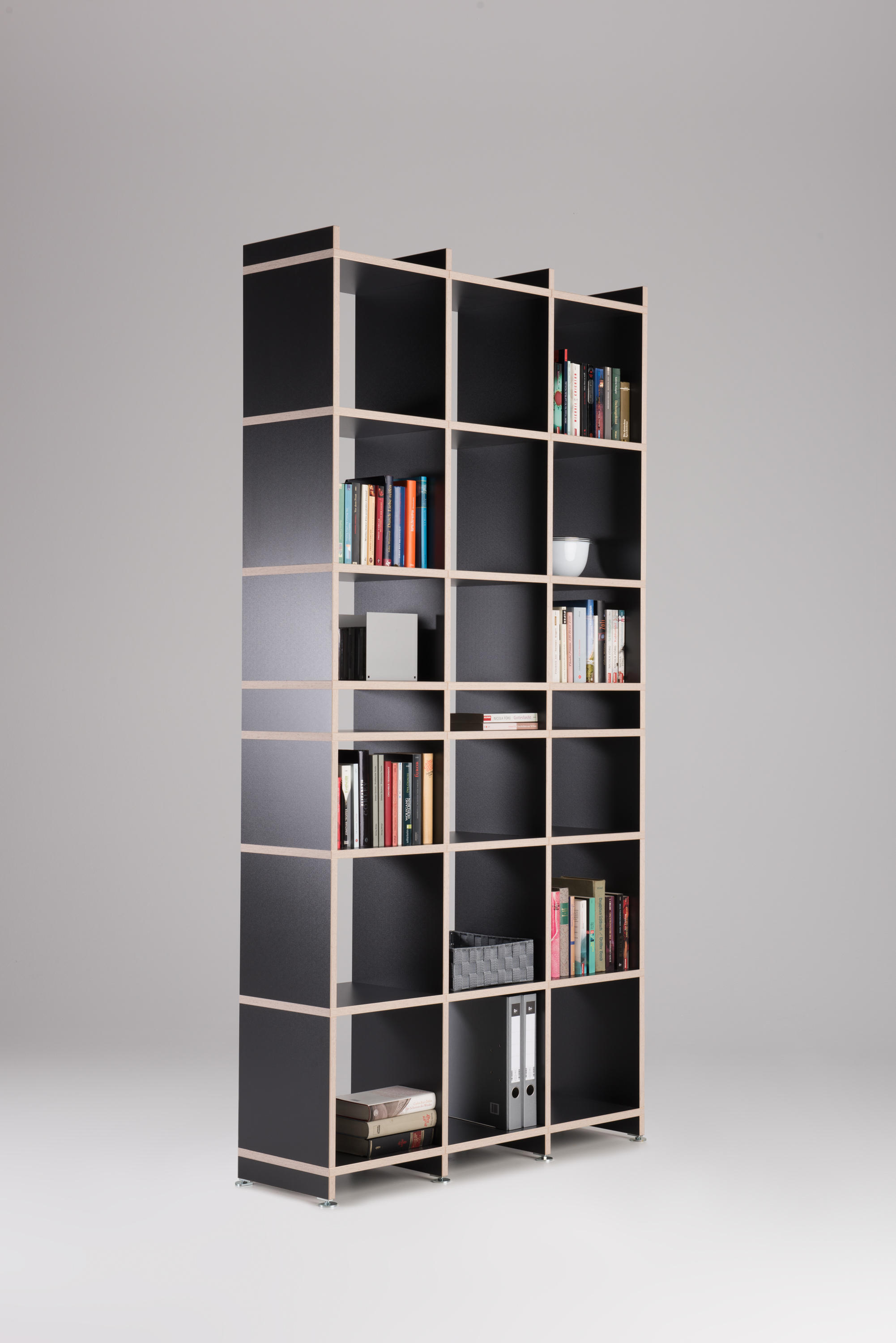 premium shelf system shelving systems from mocoba. Black Bedroom Furniture Sets. Home Design Ideas