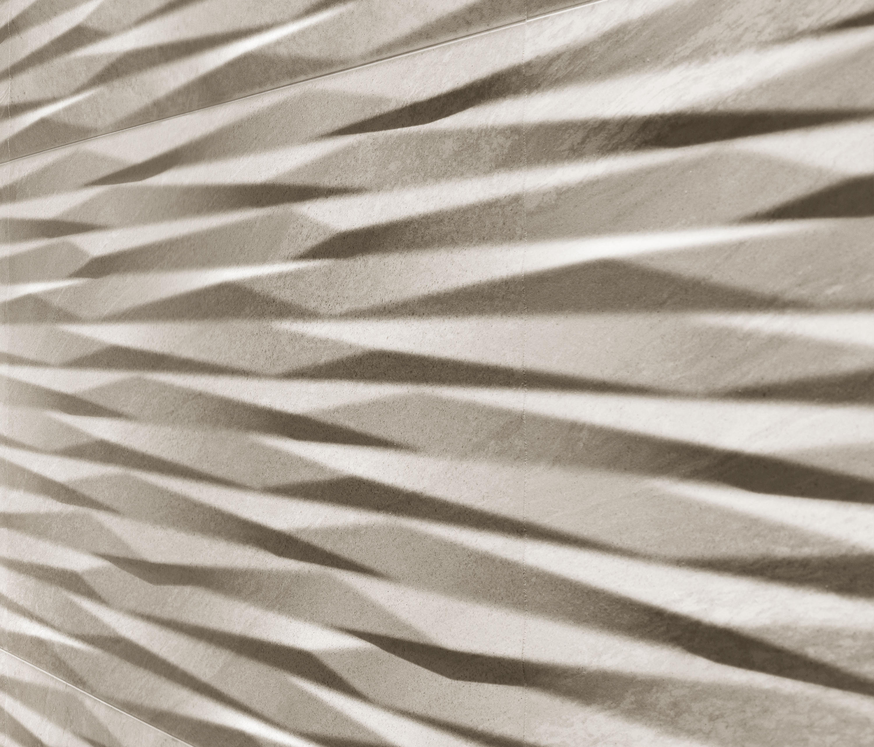 Brave 3d wall blade ceramic tiles from atlas concorde for Carrelage 3d