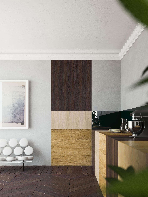 marea innenlaufende schiebet r innent ren von linvisibile architonic. Black Bedroom Furniture Sets. Home Design Ideas