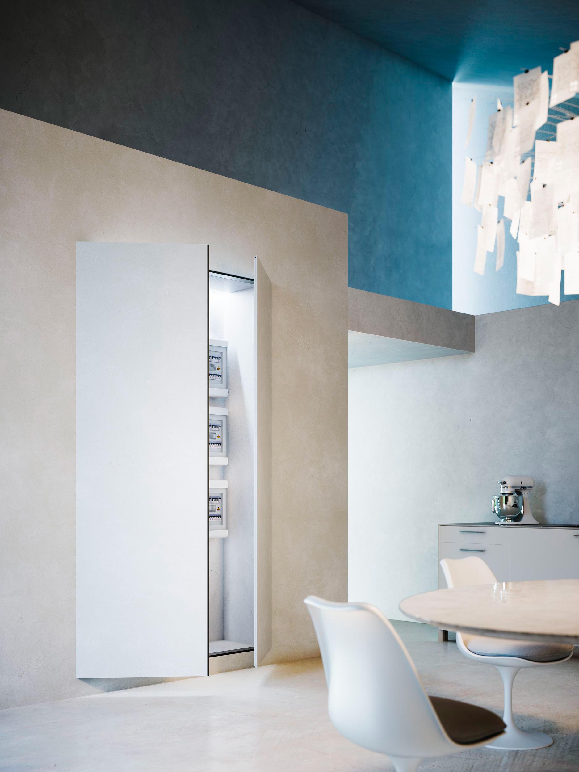 CHIUSURE SPECIALI | NICCHIO - Porte guardaroba Linvisibile | Architonic