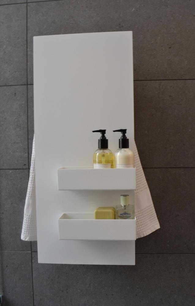 Geometrici Towel Warmer Slim Amp Shelves Radiators From