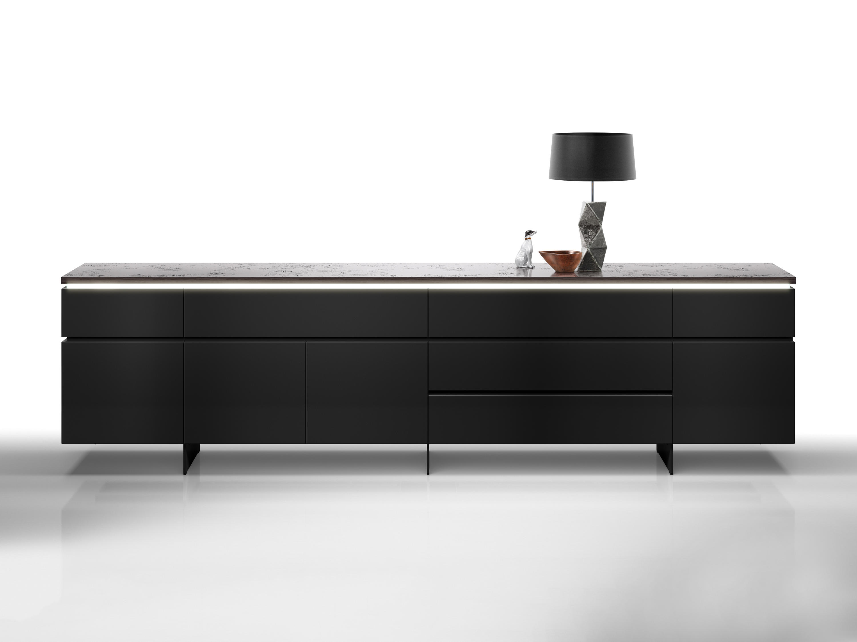 cube gap sideboards kommoden von interl bke architonic. Black Bedroom Furniture Sets. Home Design Ideas