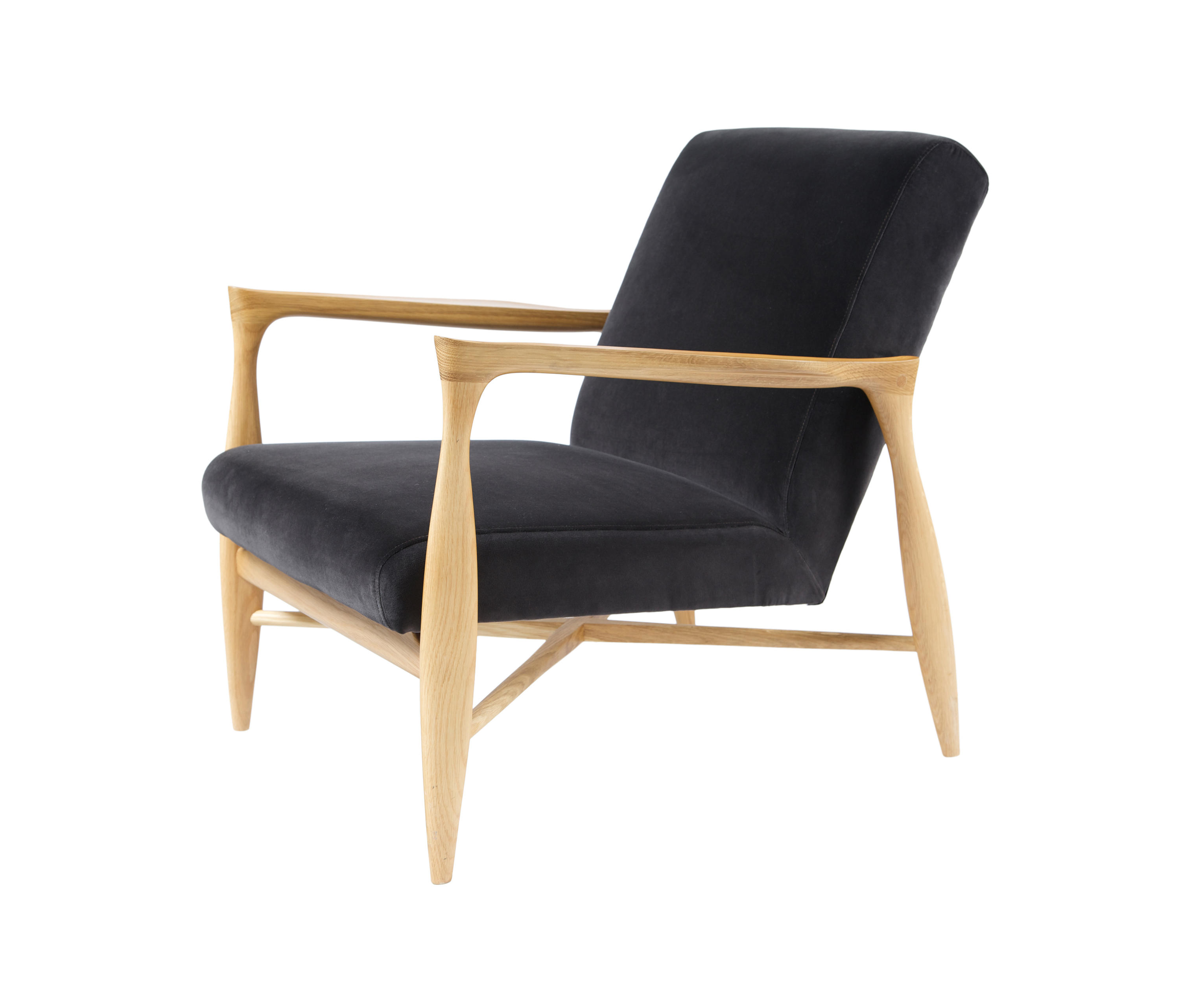 ... Floating Armchair Velours By Red Edition | Armchairs