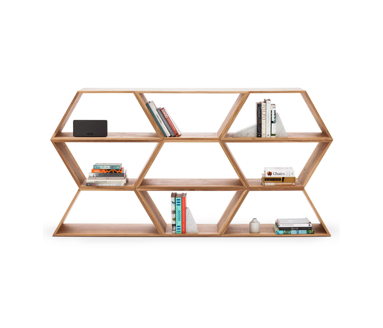 Tetra moduli libreria made in ratio architonic for Moduli libreria