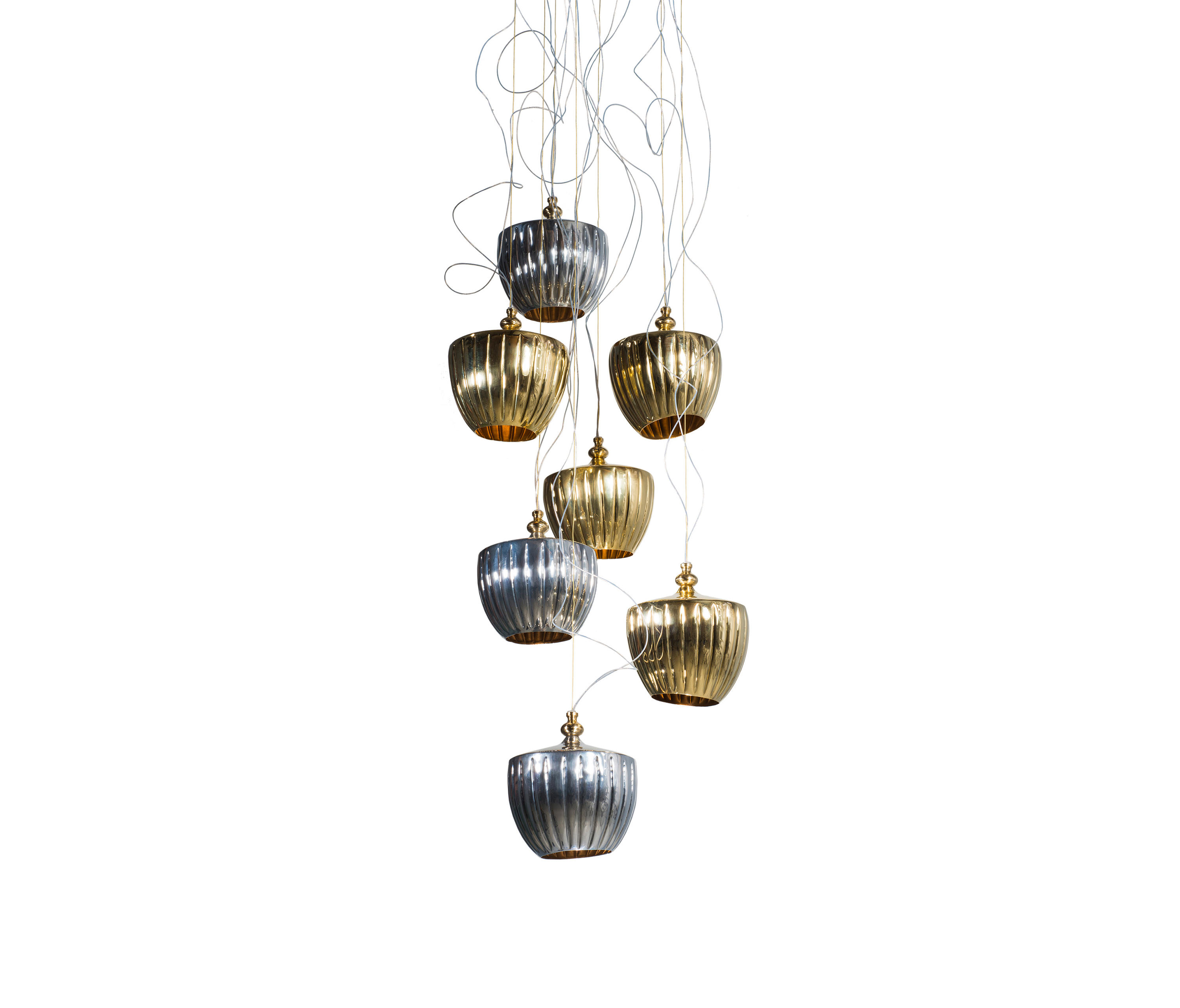 Pod cascade chandelier general lighting from martin huxford studio pod cascade chandelier by martin huxford studio general lighting arubaitofo Images