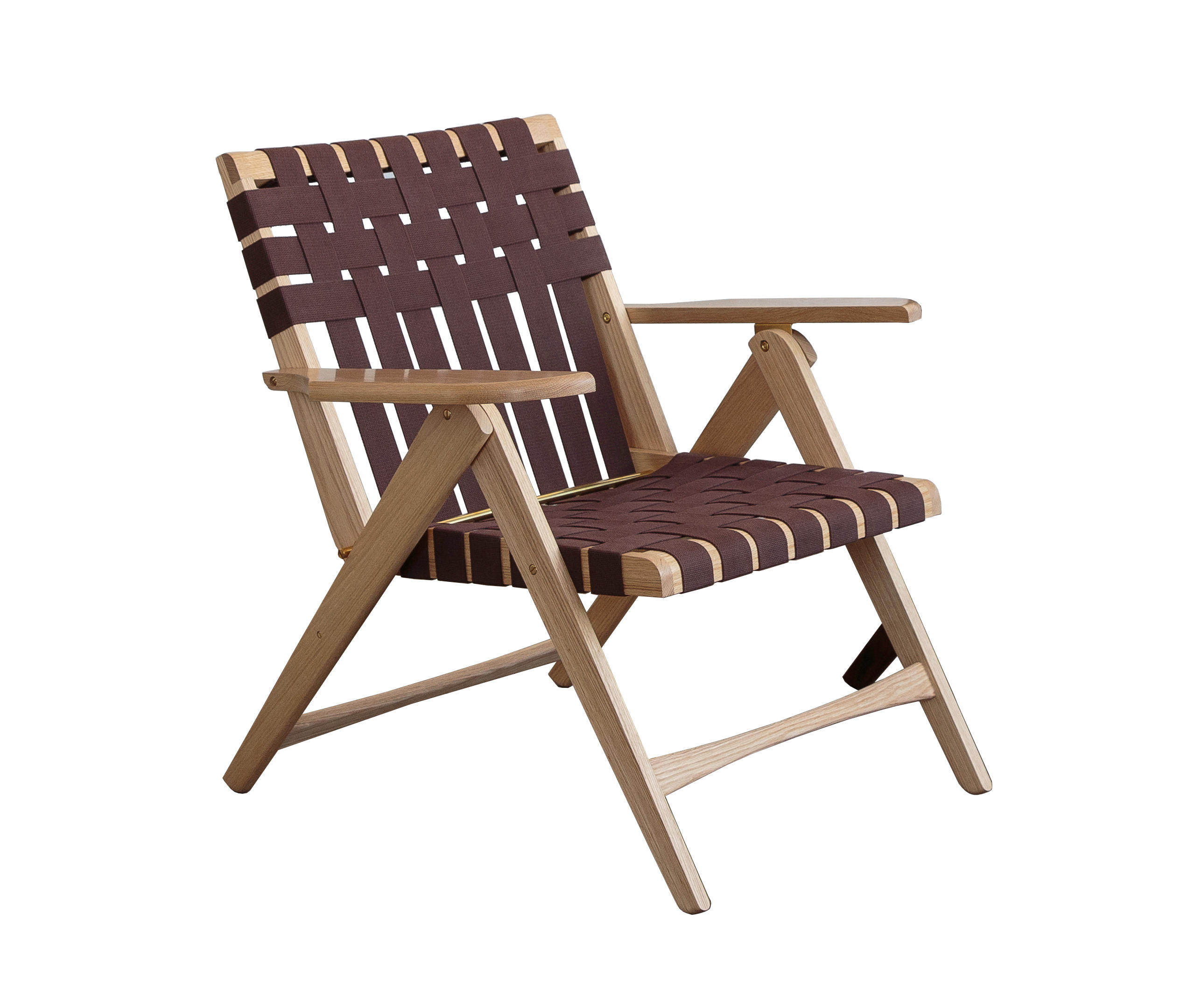 Folding Lounge Chair Oak By Todd St. John | Armchairs