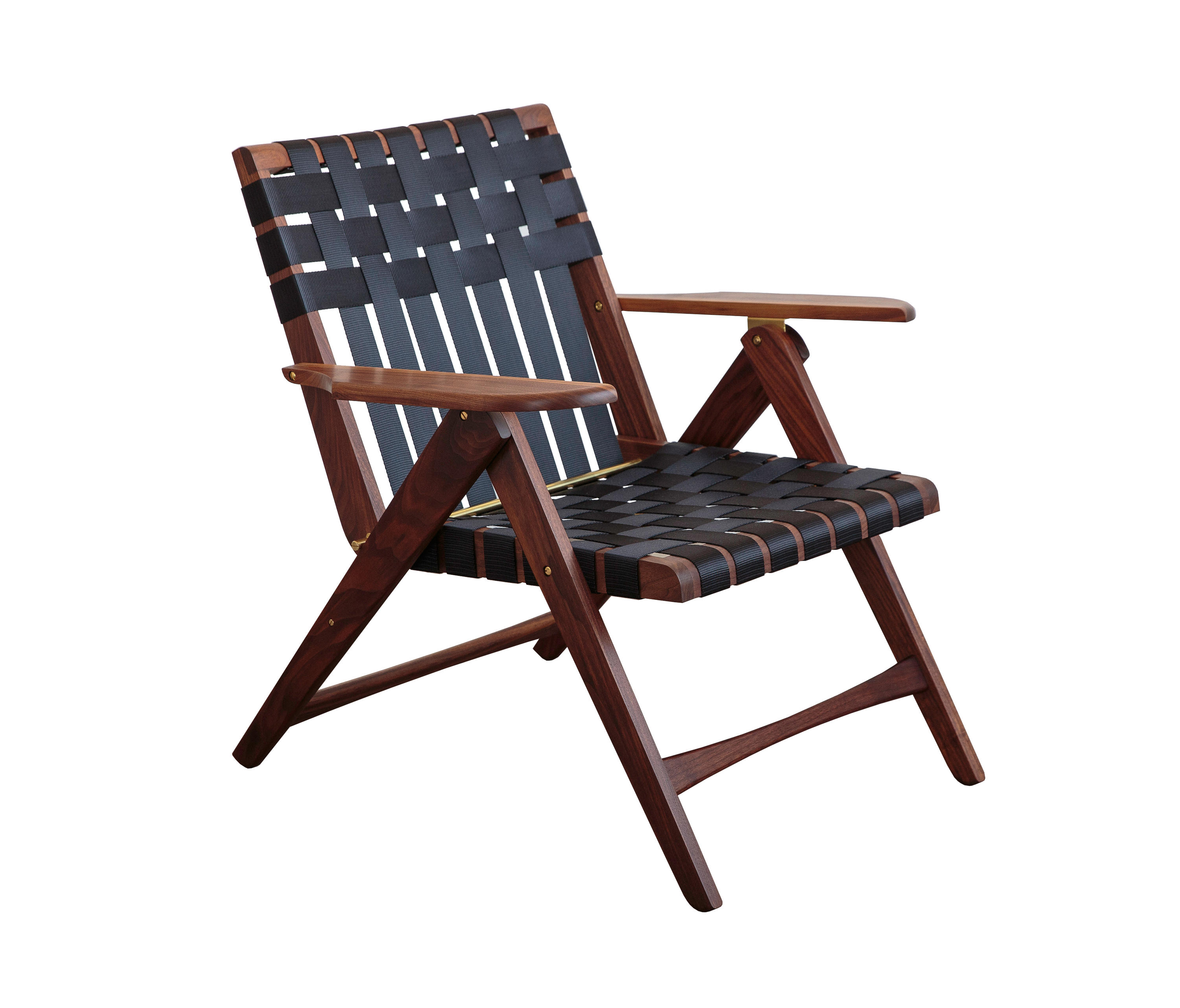 FOLDING LOUNGE CHAIR WALNUT Lounge chairs from Todd St John