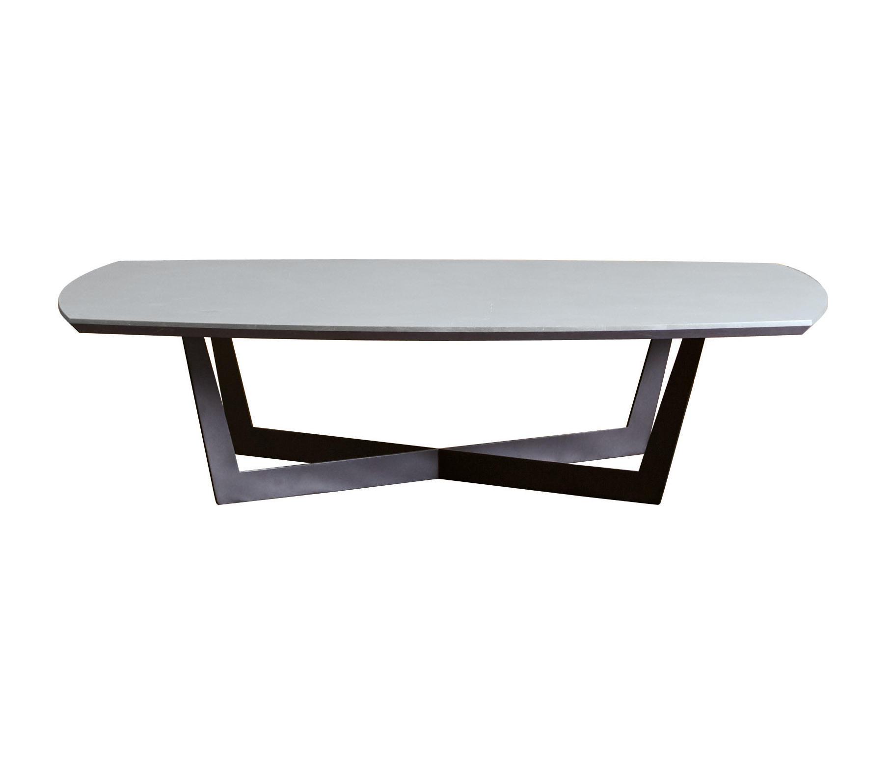 Tavolo Rettangolare Allungabile Quadrato.Iron Tavolino Cross Rettangolare Architonic