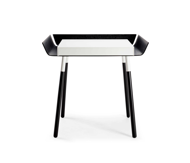 small black writing desk Buy elegant desk products like safavieh aali desk in black, powell willowbrook desk in white, home styles bedford executive desk in black, adesso® vera desk lamp.