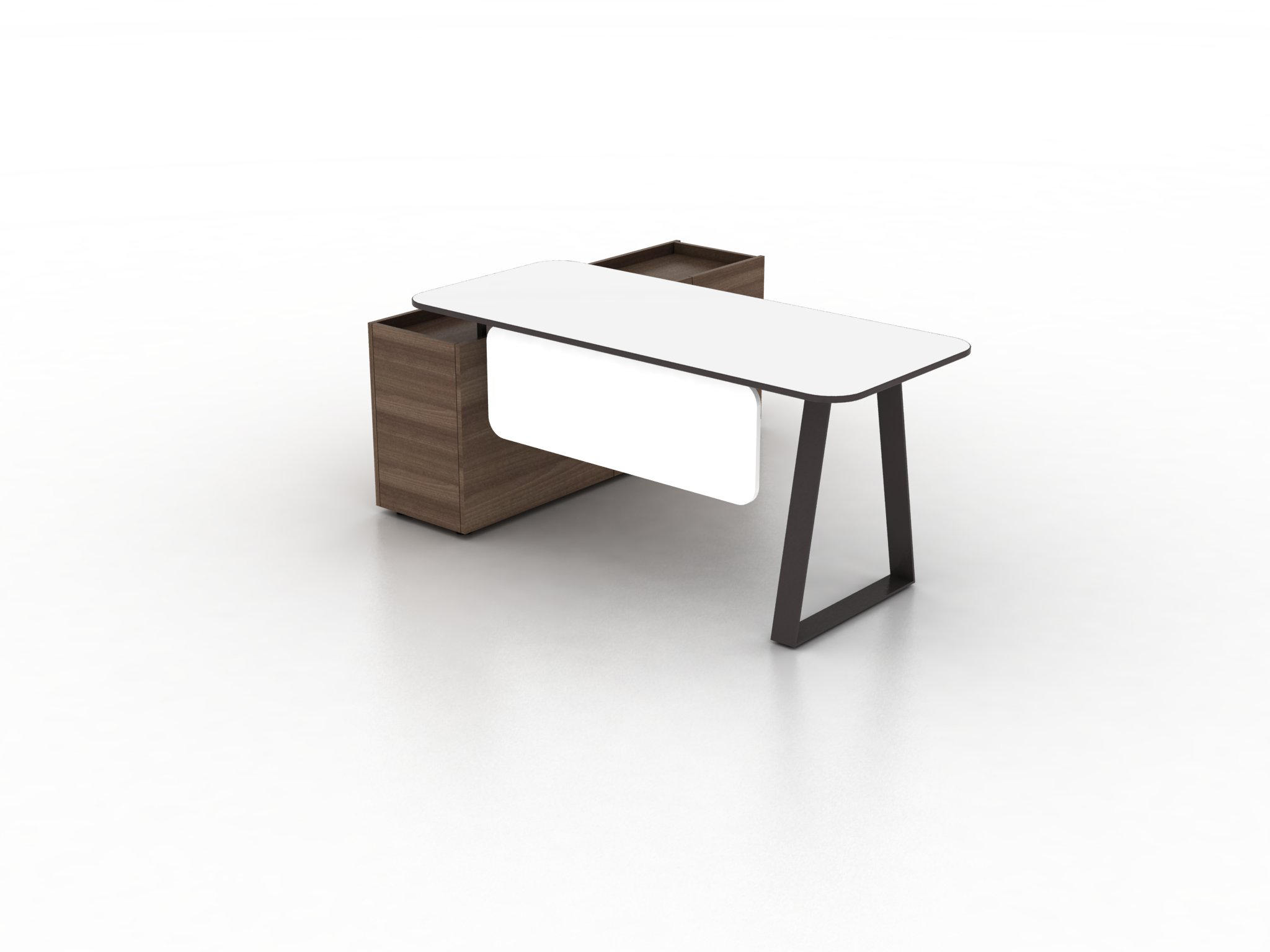 Coach Single Office Desk By Ergolain