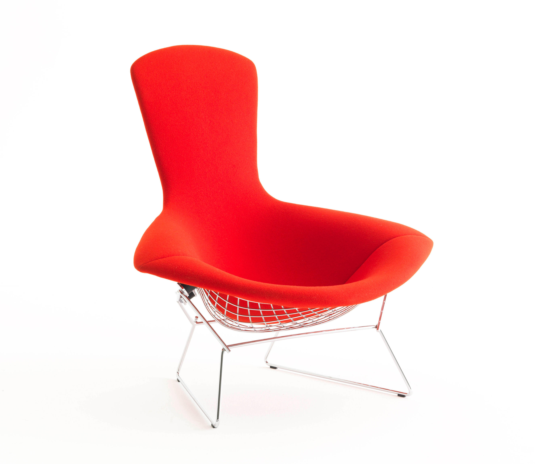 bertoia fauteuil high back fauteuils de knoll international architonic. Black Bedroom Furniture Sets. Home Design Ideas