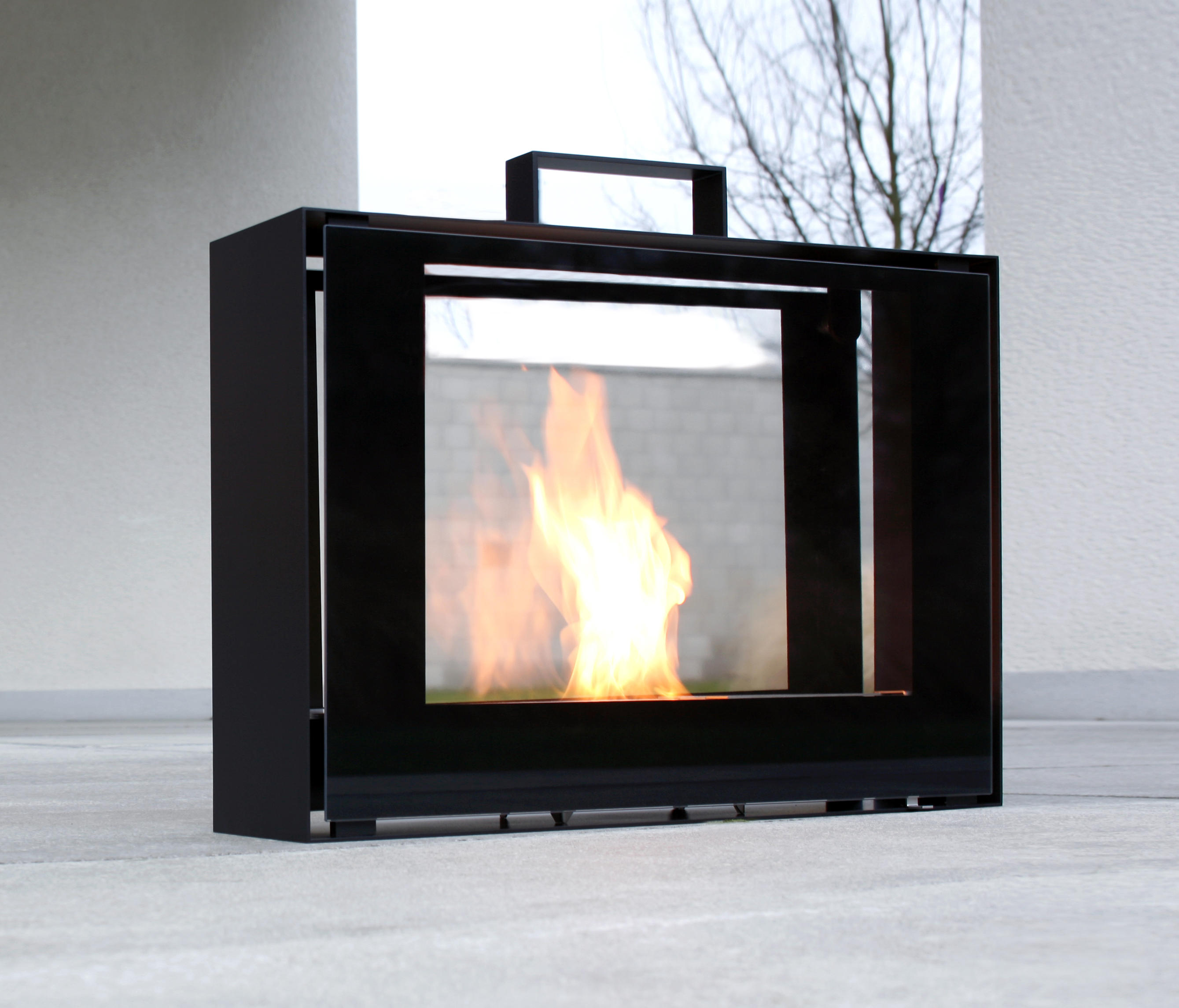 travelmate ventless ethanol fires from conmoto architonic. Black Bedroom Furniture Sets. Home Design Ideas
