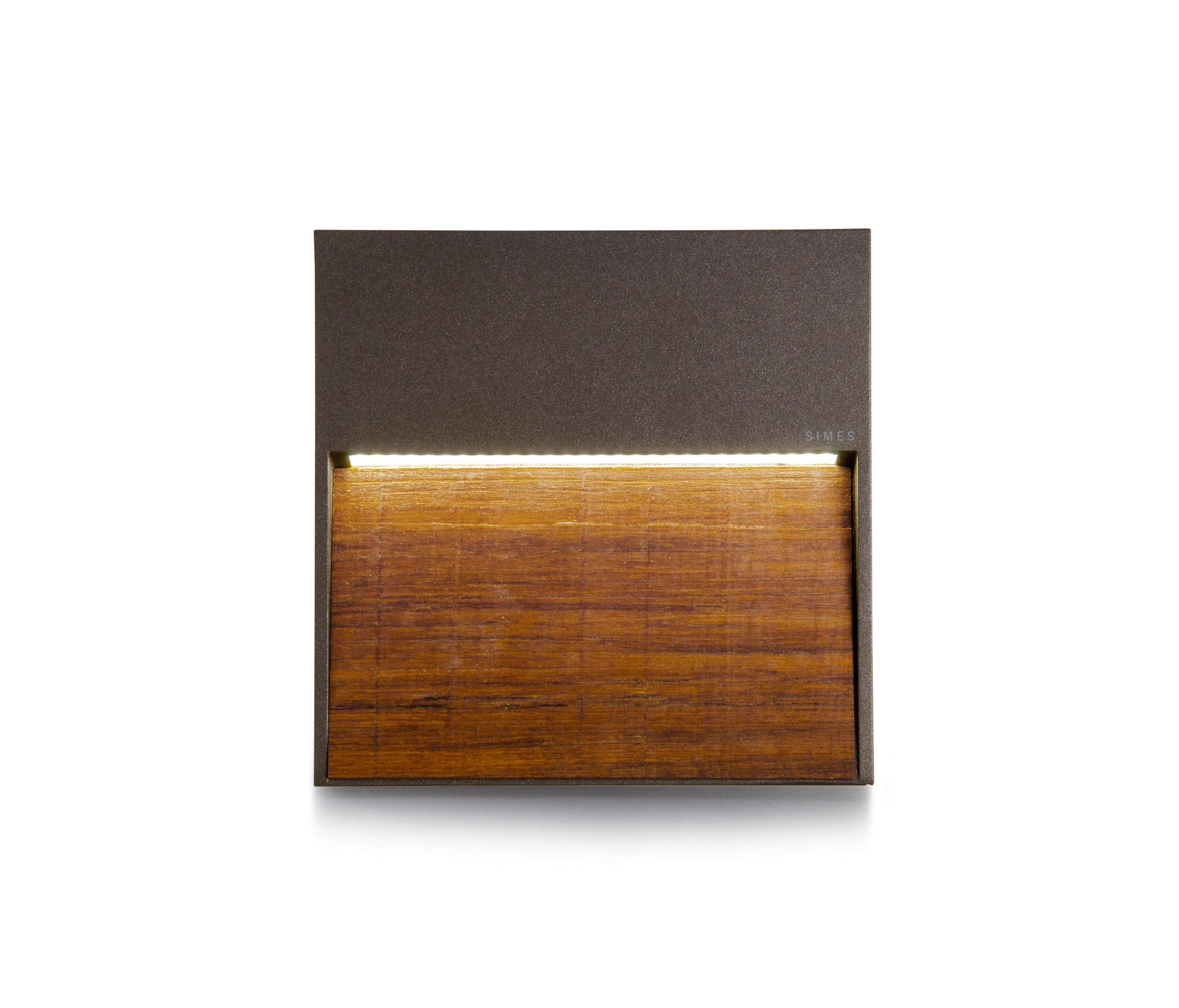 Skill Wood Square Outdoor Wall Lights From Simes Architonic Replacing The Light Fitting Be Sure To Safely Isolate Circuit By