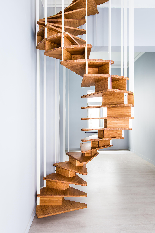 Escalier colima on olmo escaliers en bois de jo a architonic - Prix escalier colimacon ...