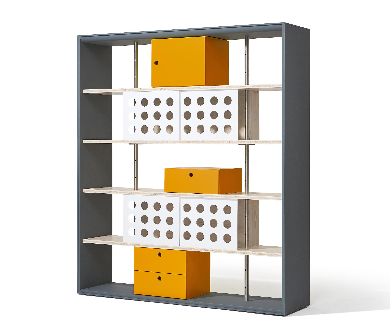 Frame shelving system sistemas de estanter a de lampert for Frame storage system