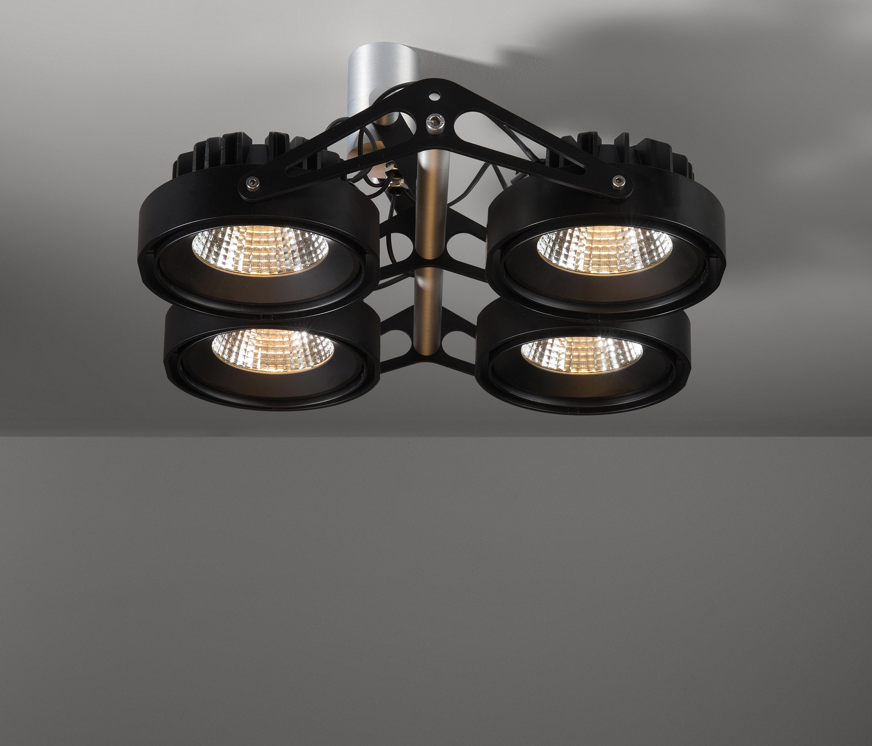 NOMAD 111 4X LED GE - Ceiling-mounted spotlights from Modular ...