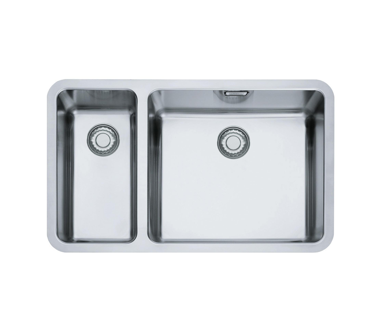 KUBUS SPÜLE KBX 160 45 20 EDELSTAHL Küchenspülbecken von