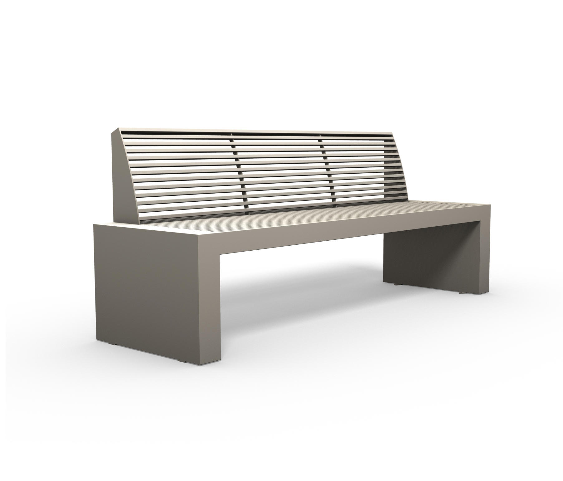 sicorum m 700 bench bancs publics de benkert baenke architonic. Black Bedroom Furniture Sets. Home Design Ideas