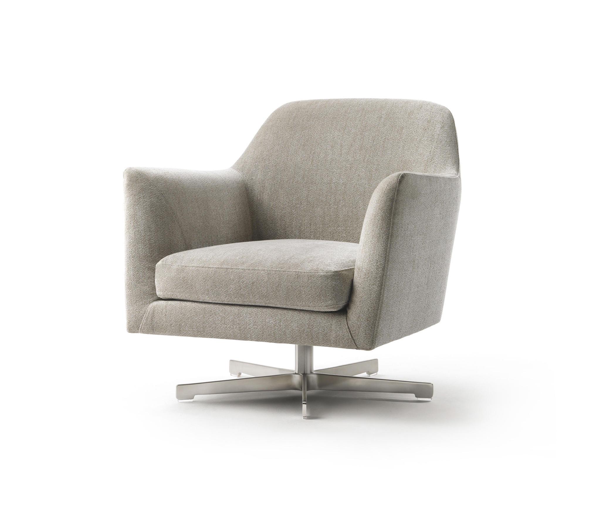 luce sessel drehbar loungesessel von flexform architonic. Black Bedroom Furniture Sets. Home Design Ideas