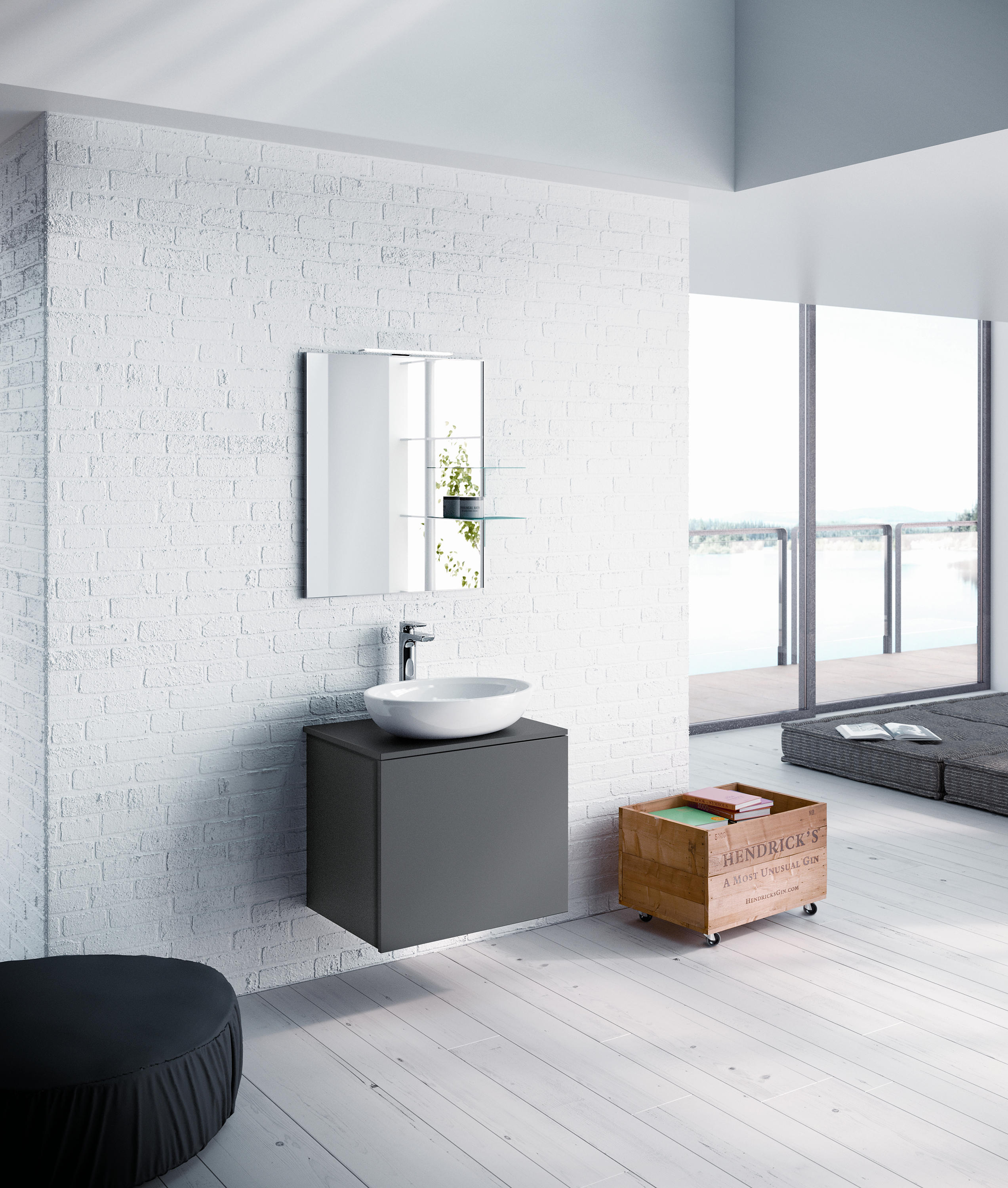Lato 60 Wall Mirrors From Milldue Architonic # Muebles Loverpool